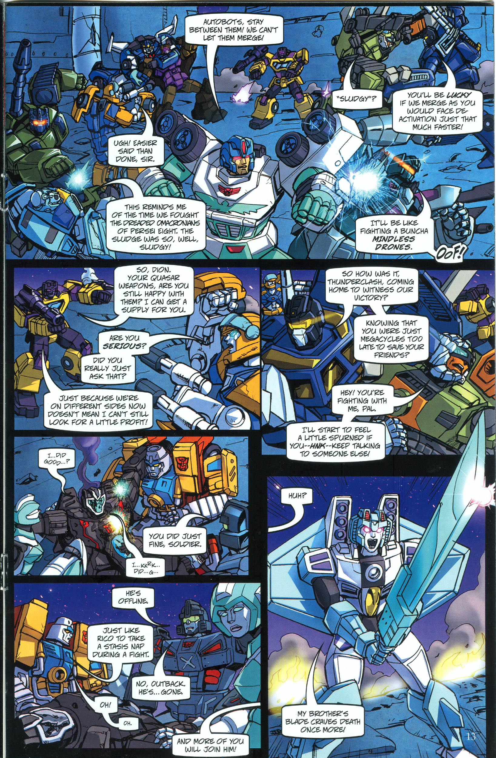 Read online Transformers: Collectors' Club comic -  Issue #39 - 13