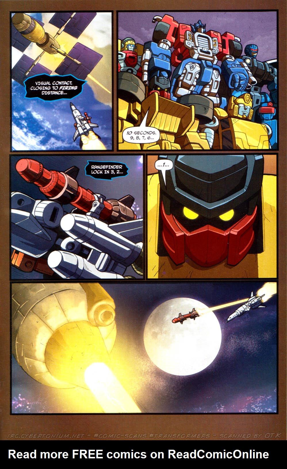 Read online Transformers Armada comic -  Issue #13 - 21