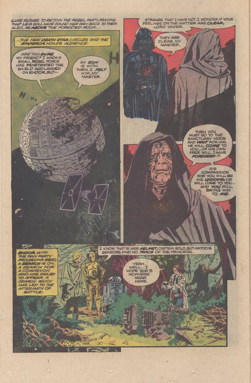 Read online Star Wars: Return of the Jedi comic -  Issue #3 - 13
