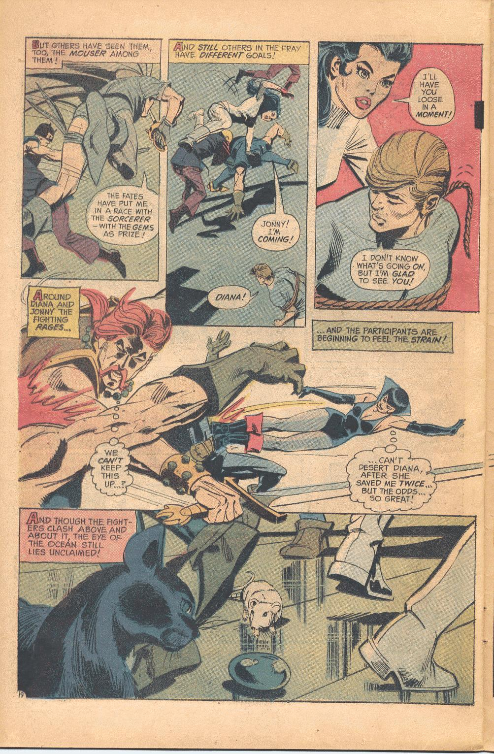 Read online Wonder Woman (1942) comic -  Issue #202 - 20
