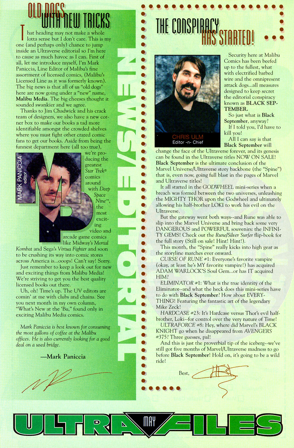 Read online UltraForce (1994) comic -  Issue #8 - 23