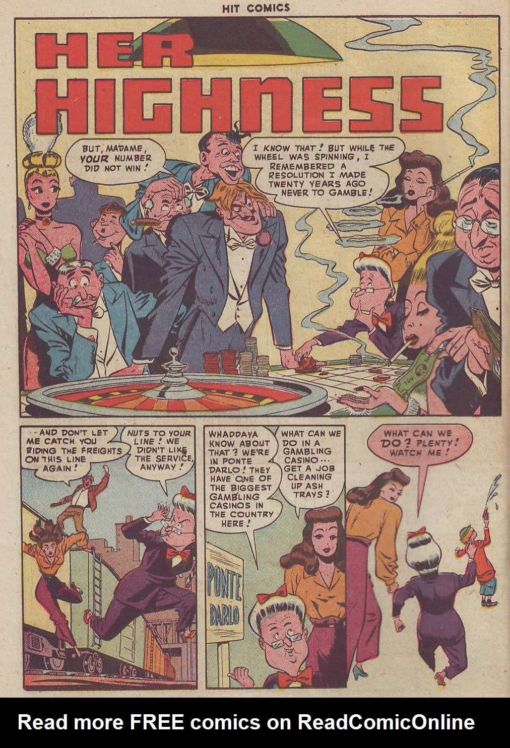 Read online Hit Comics comic -  Issue #51 - 32