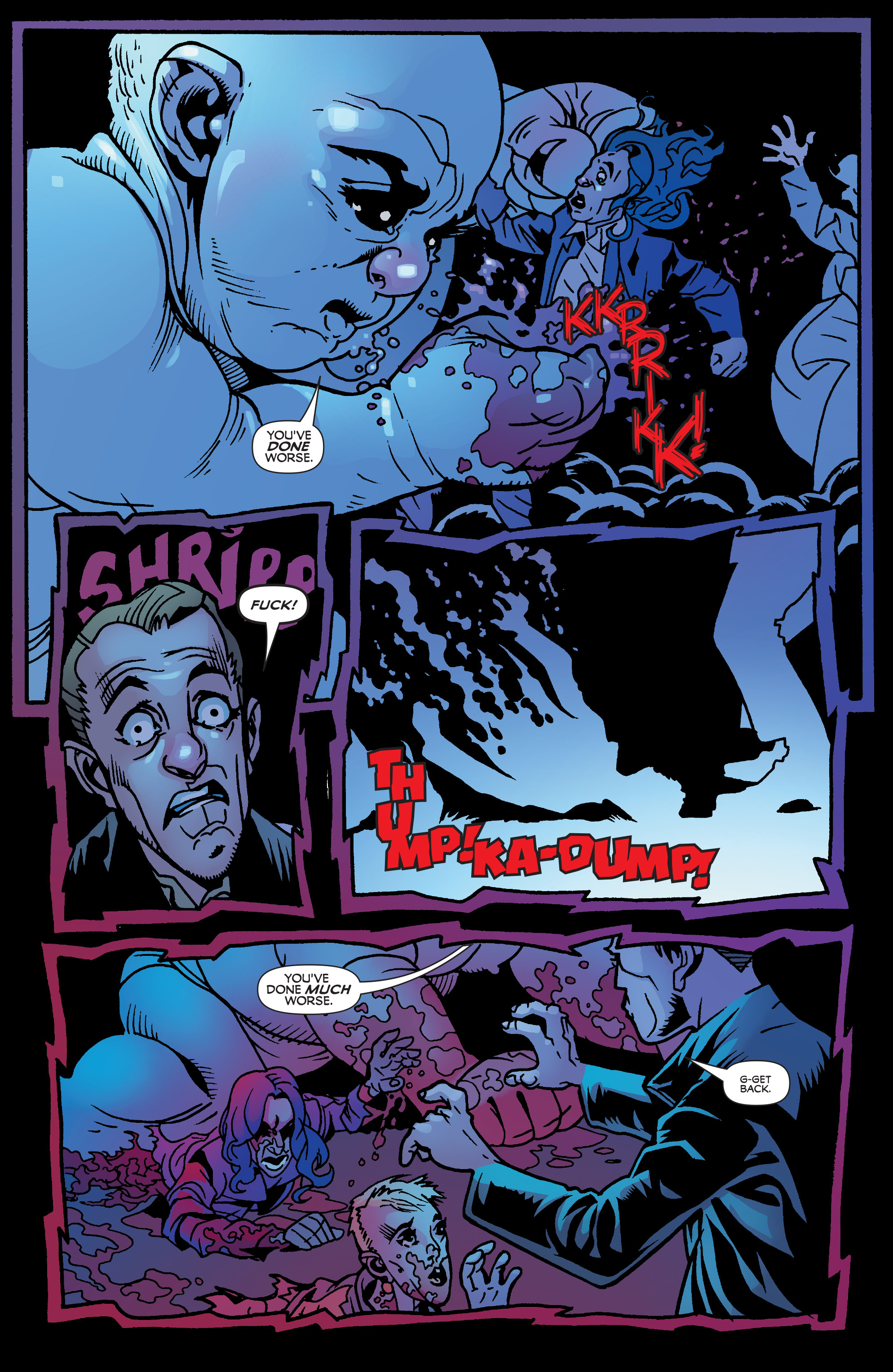 Read online Blood Blister comic -  Issue #1 - 20