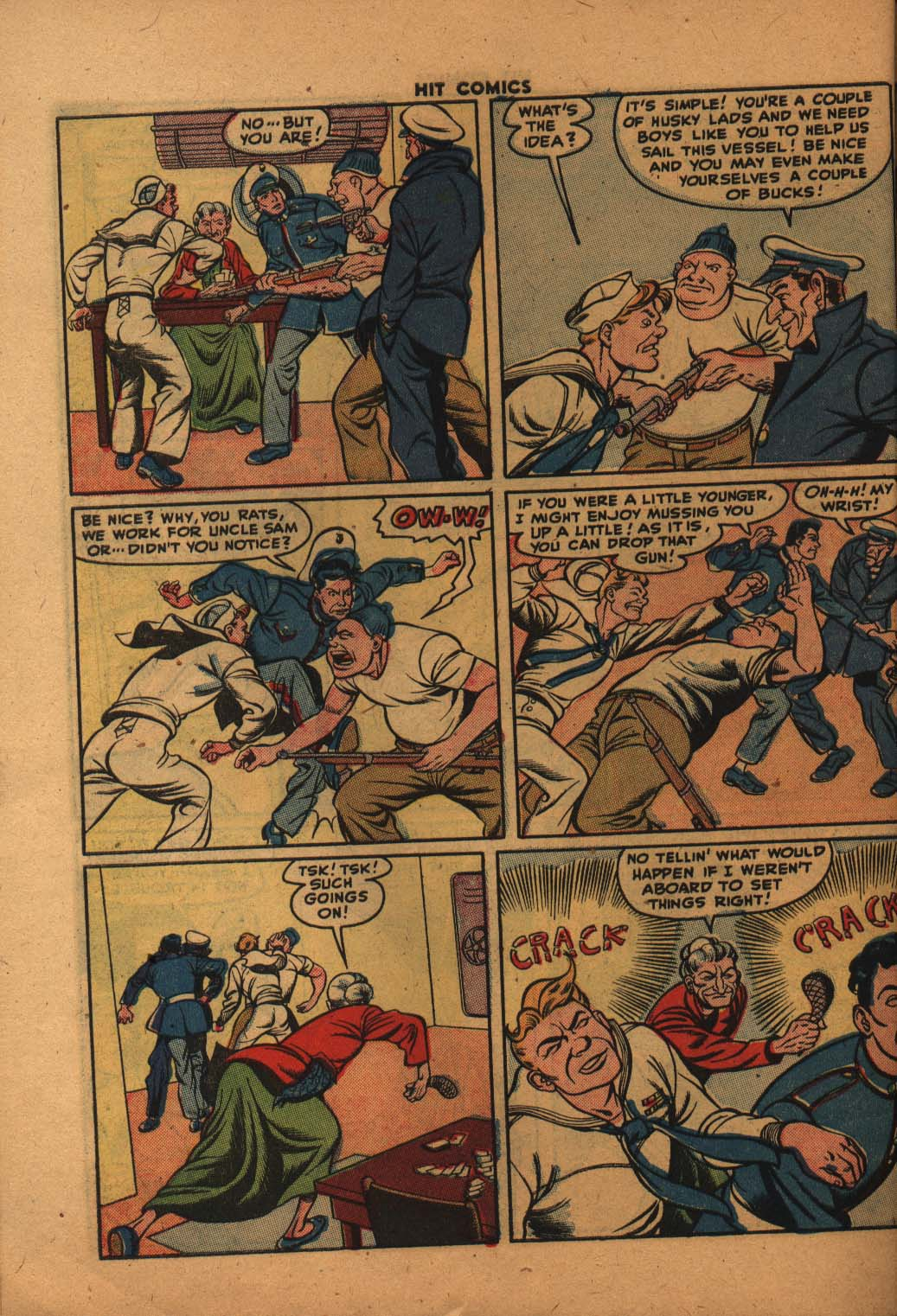 Read online Hit Comics comic -  Issue #47 - 41