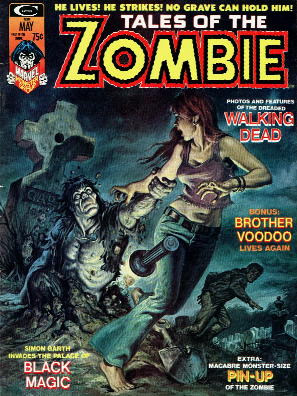 Zombie (1973) issue 5 - Page 1
