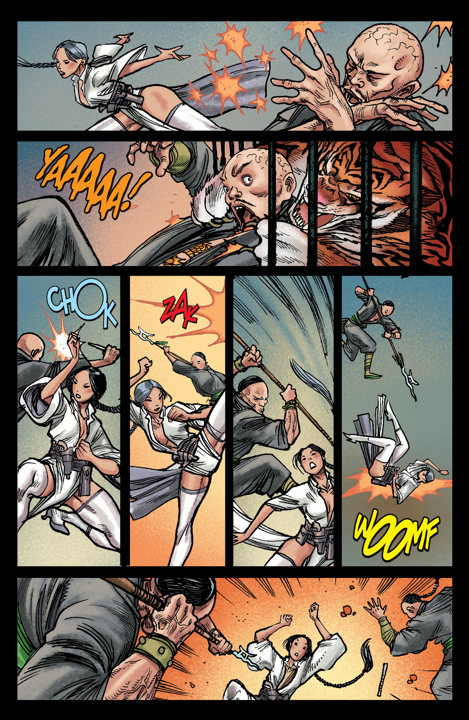 Read online All-Star Western (2011) comic -  Issue #13 - 11
