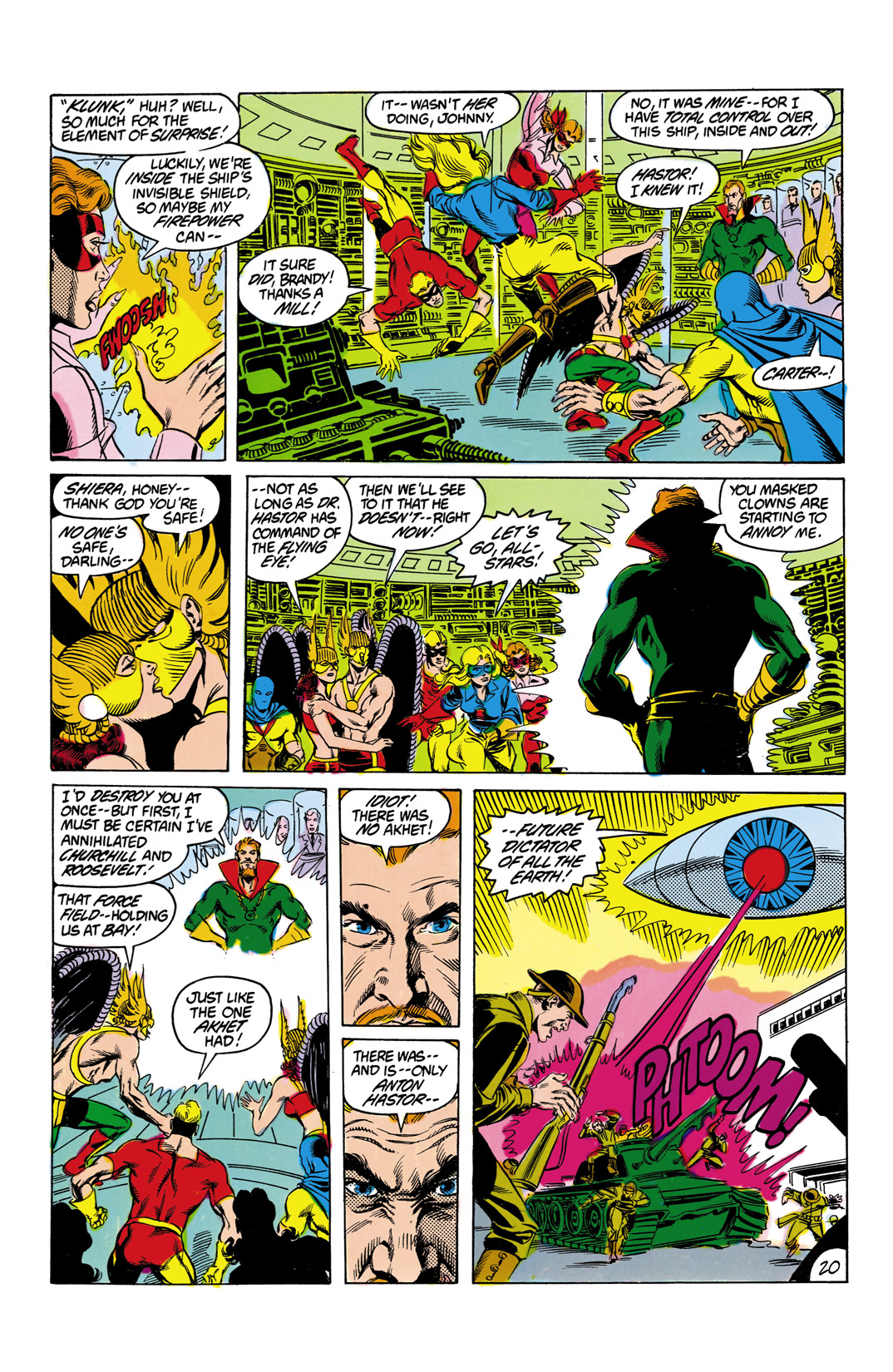 Read online All-Star Squadron comic -  Issue #12 - 21