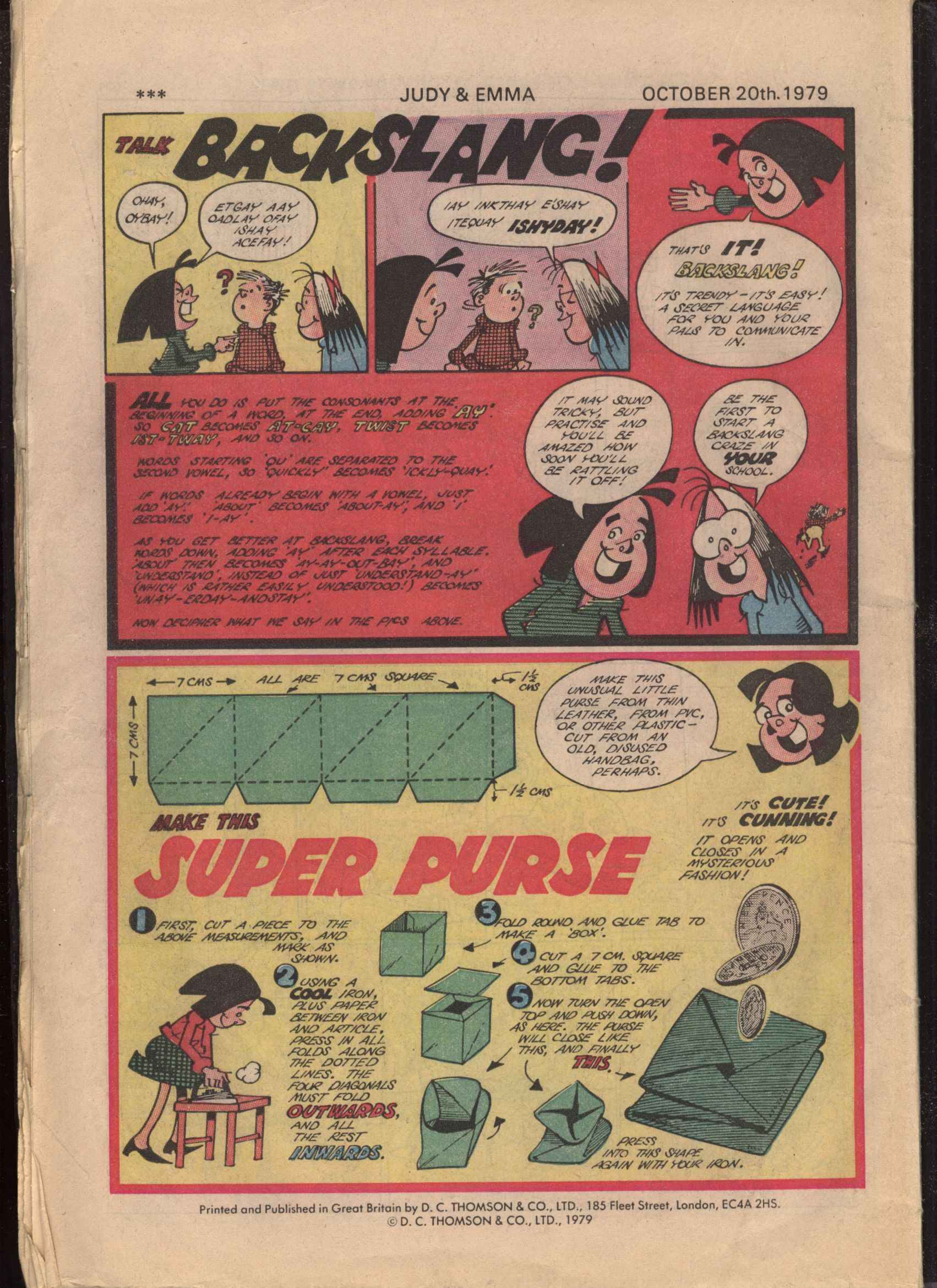 Read online Judy comic -  Issue #1032 - 32