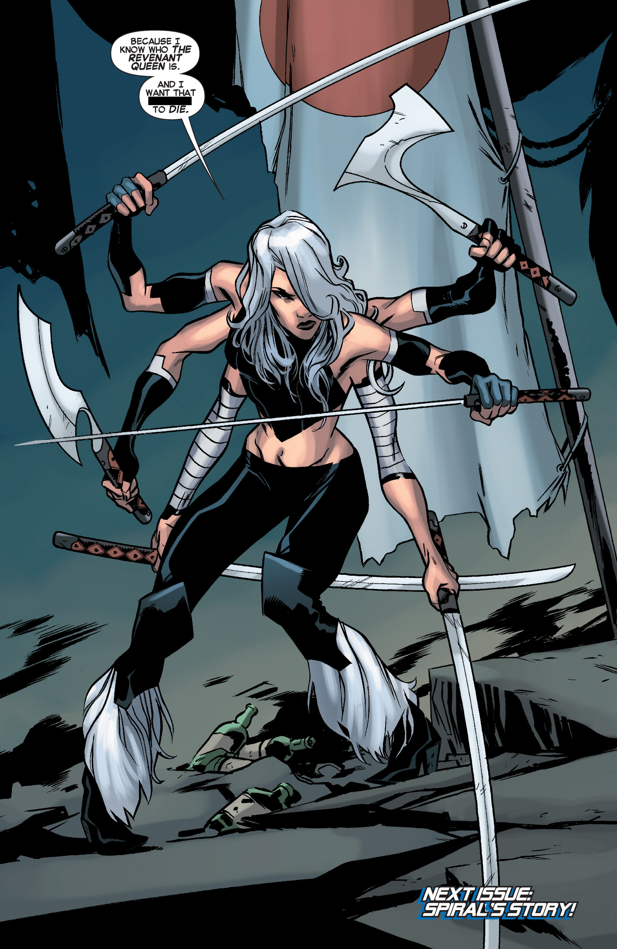 Read online Uncanny X-Force (2013) comic -  Issue #11 - 21
