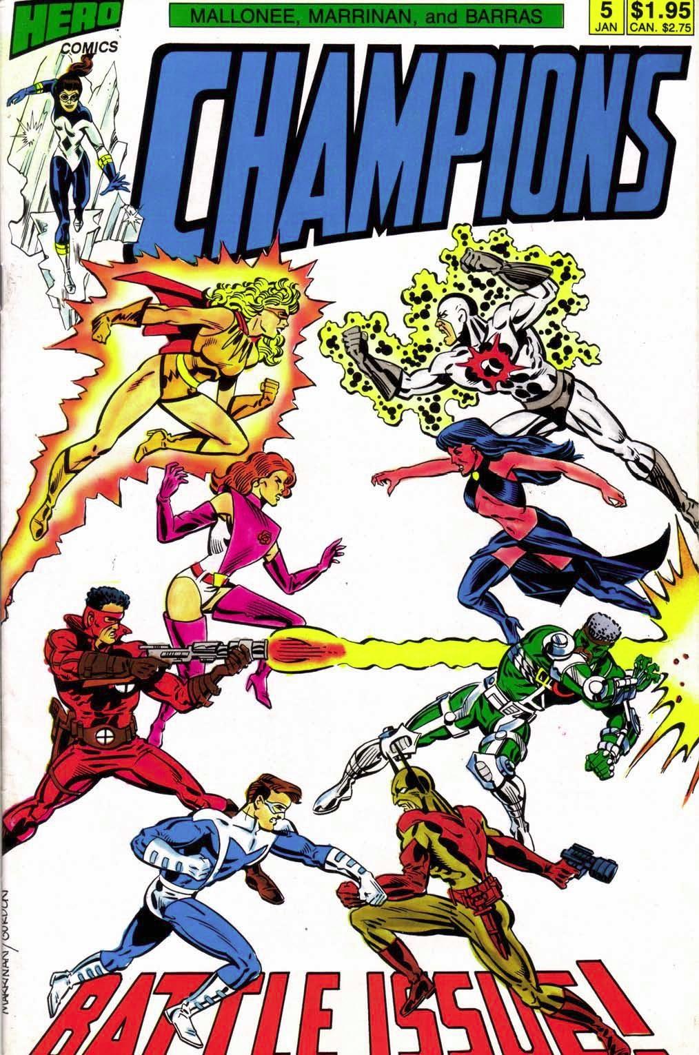 Champions (1987) 5 Page 1