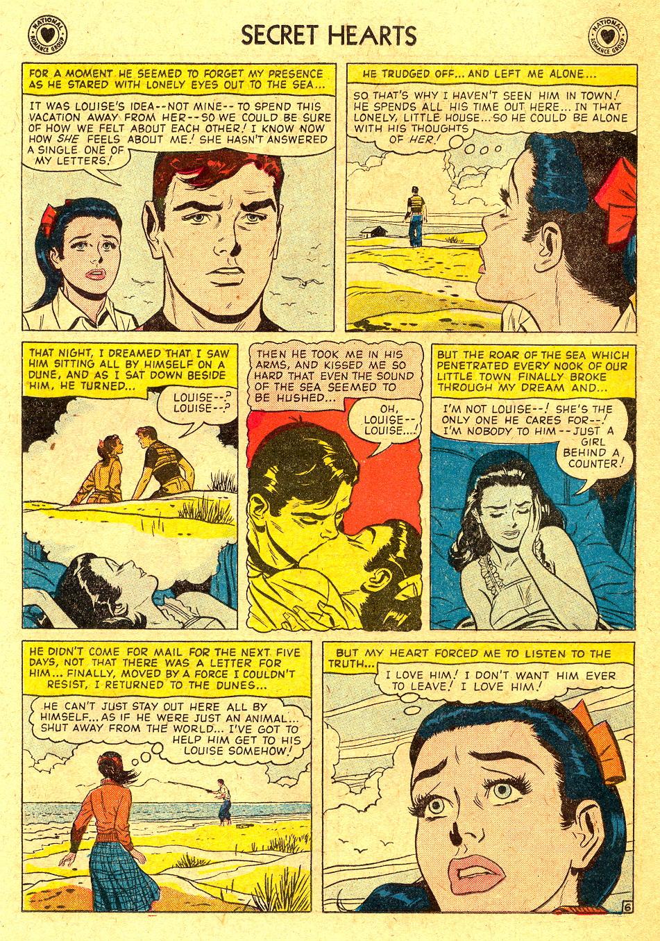 Read online Secret Hearts comic -  Issue #45 - 22