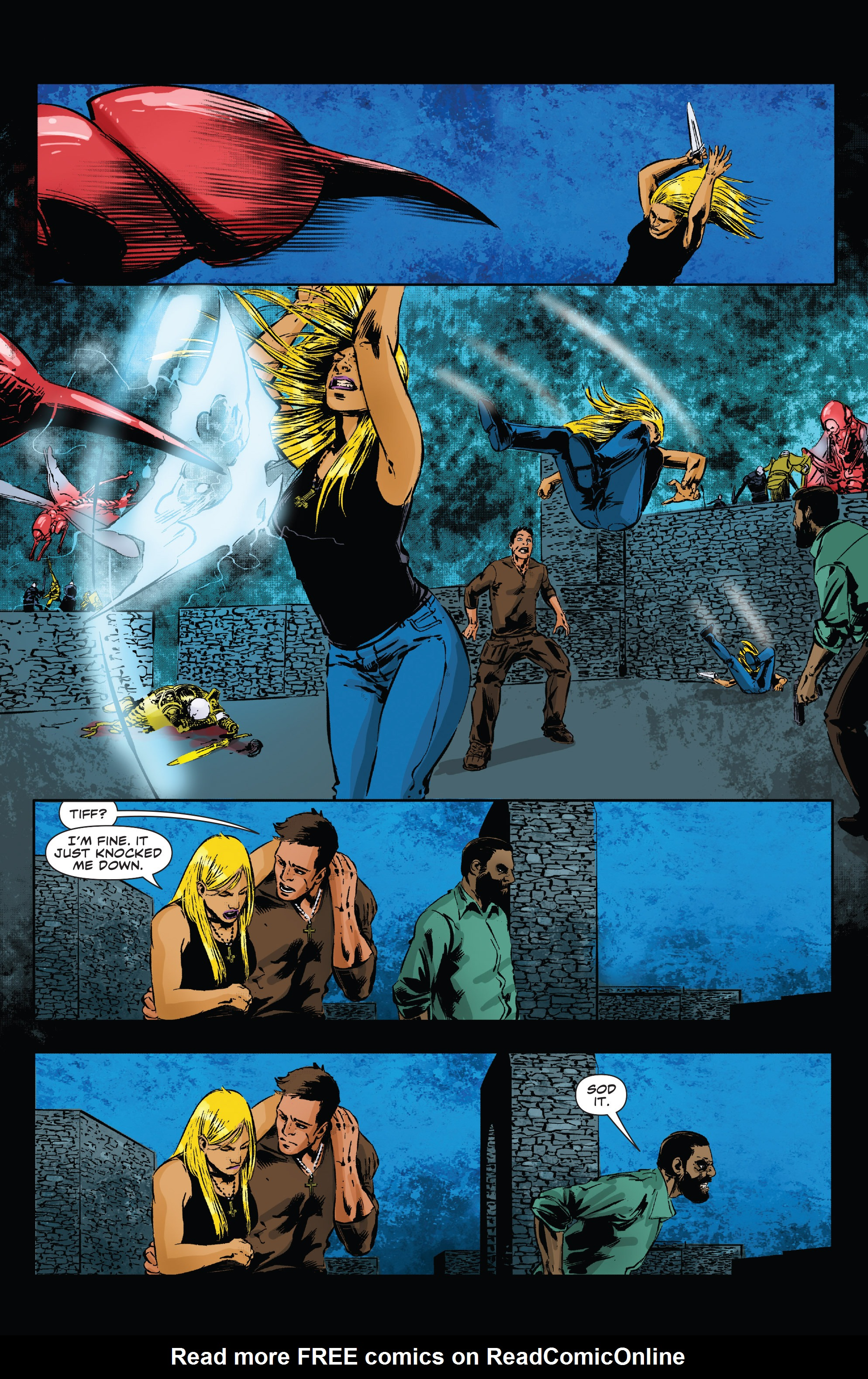 Read online Clive Barker's Hellraiser: The Dark Watch comic -  Issue # TPB 3 - 50