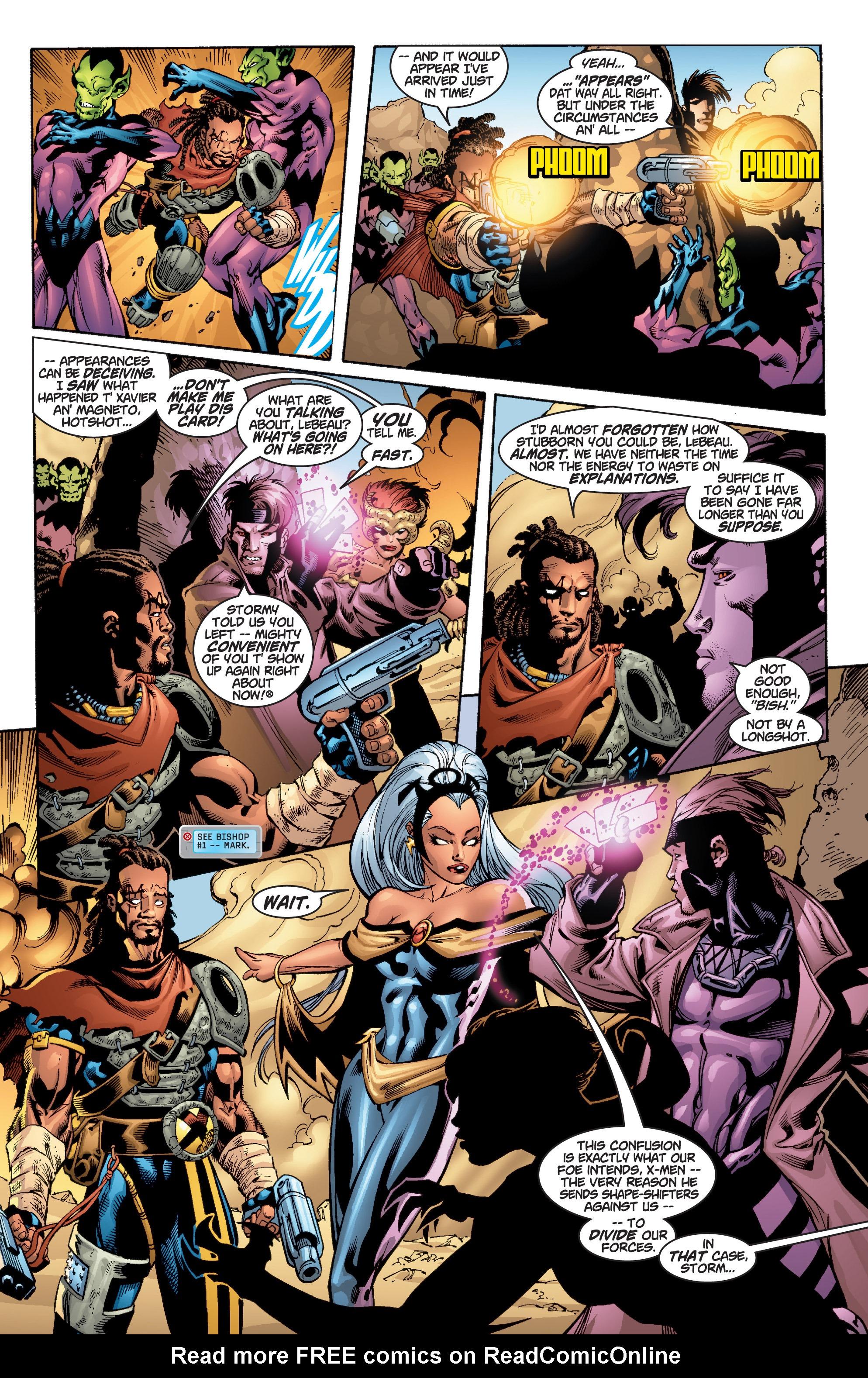Read online Uncanny X-Men (1963) comic -  Issue #377 - 9