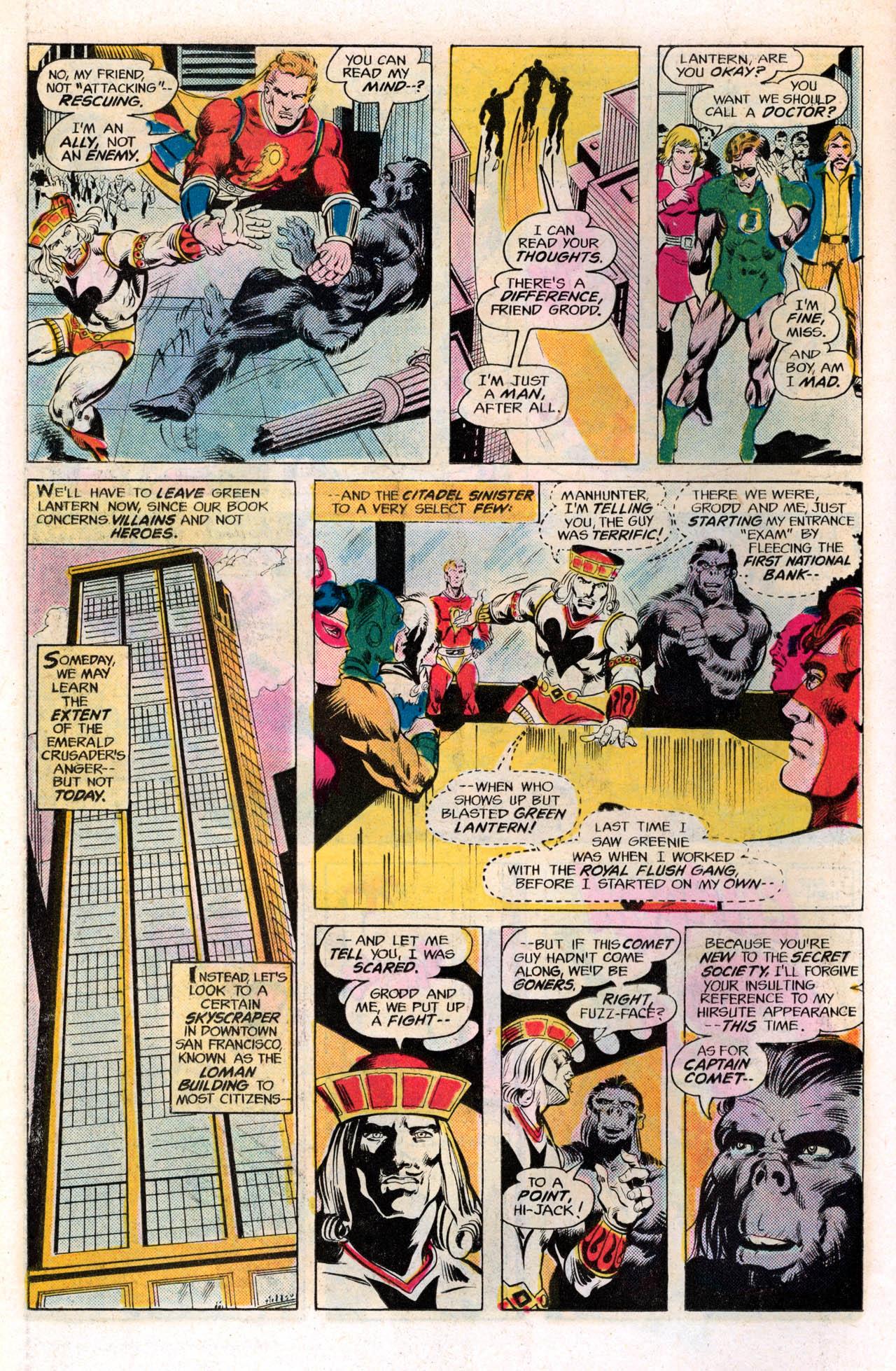 Read online Secret Society of Super-Villains comic -  Issue #2 - 10