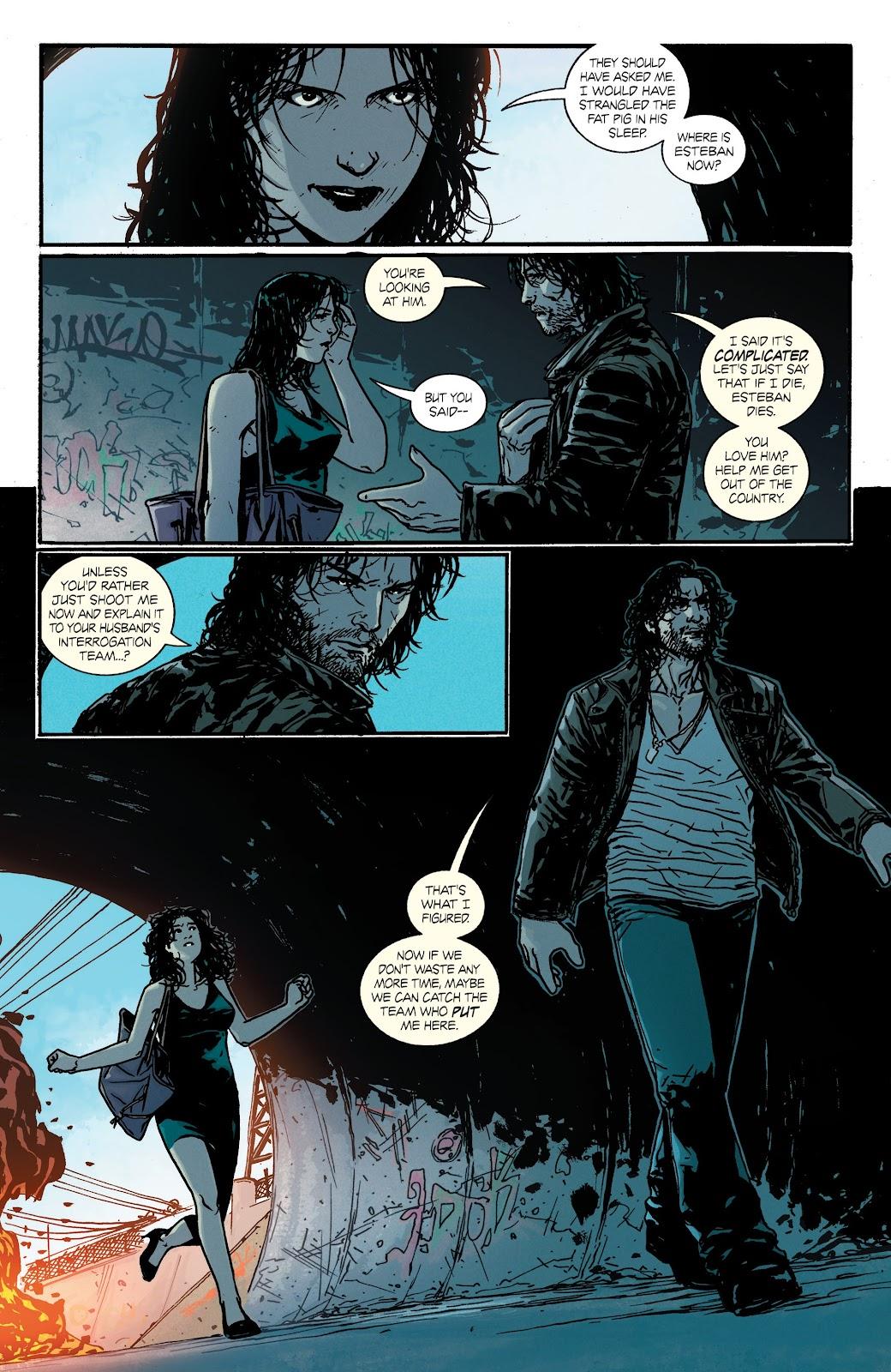 Read online Hardcore comic -  Issue #3 - 4