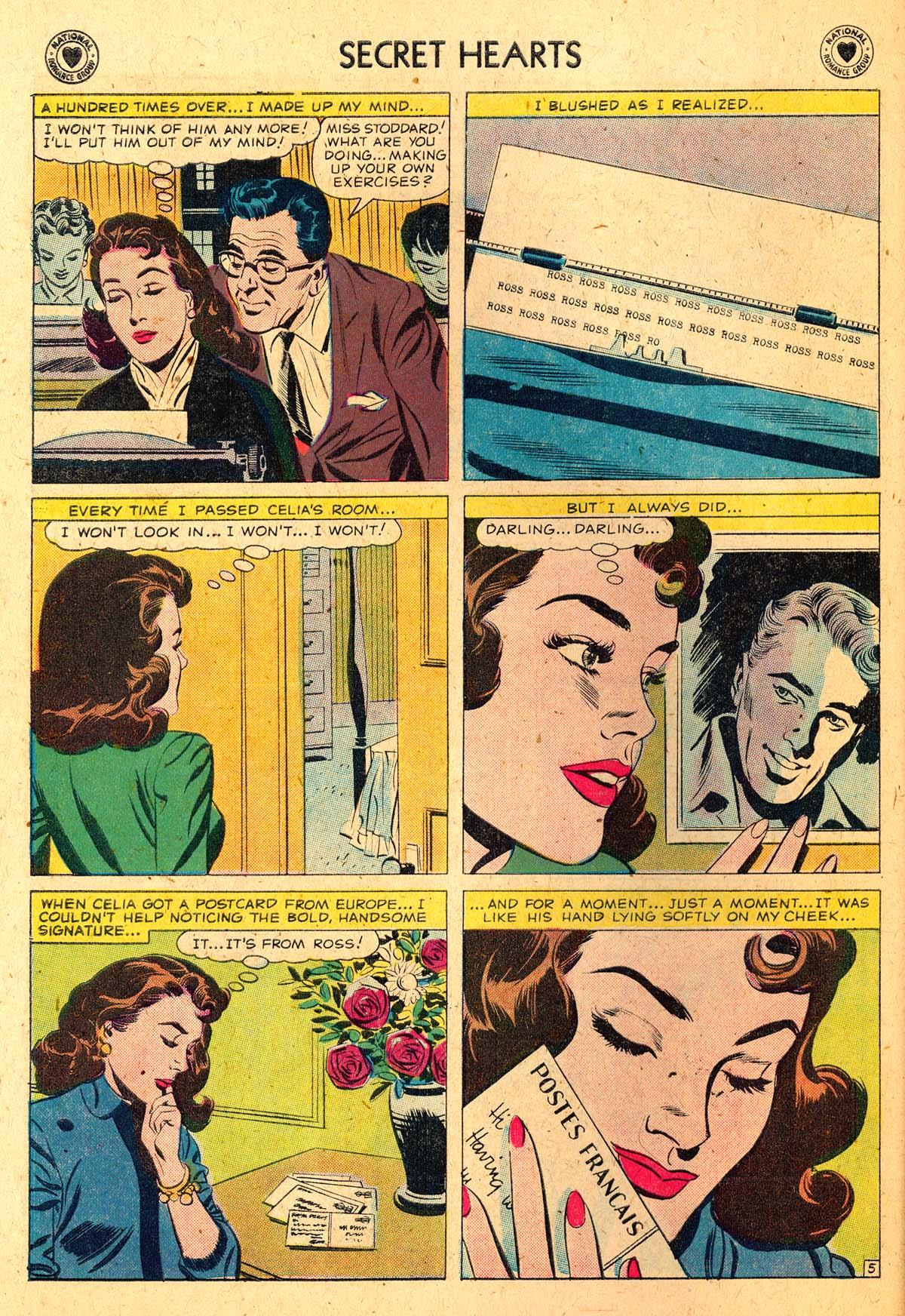 Read online Secret Hearts comic -  Issue #52 - 30