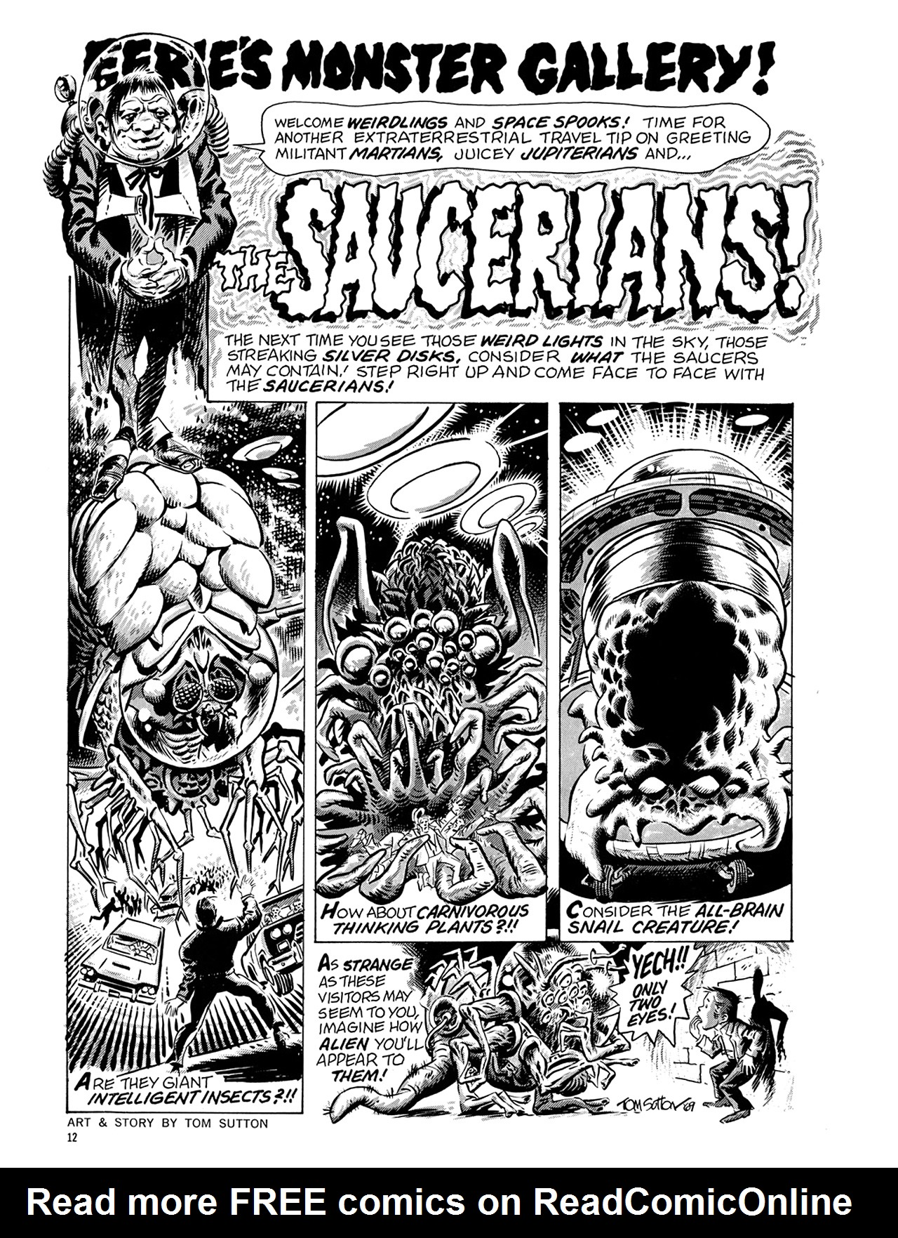 Read online Eerie Archives comic -  Issue # TPB 6 - 13