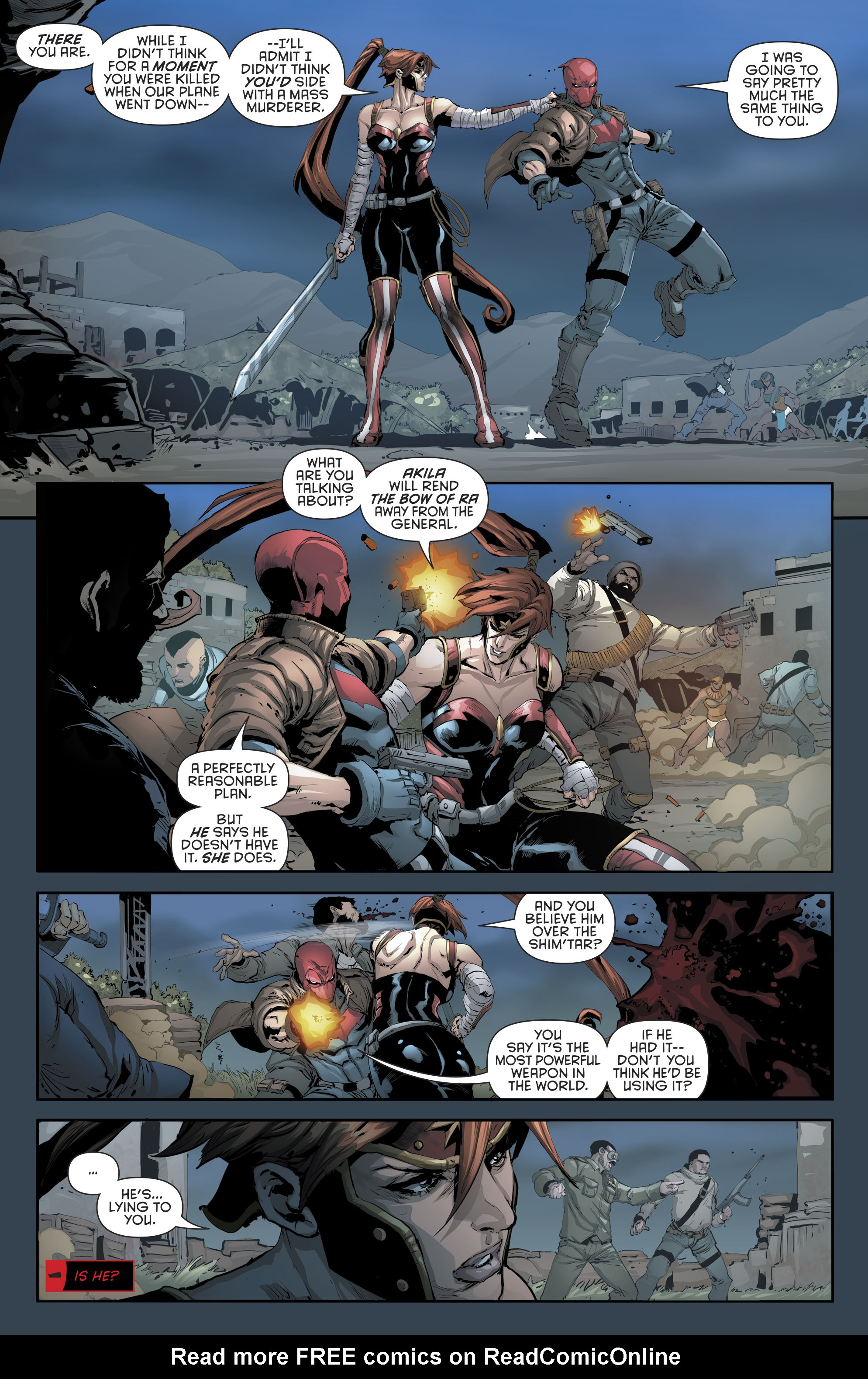 Read online Red Hood and the Outlaws (2016) comic -  Issue #11 - 6