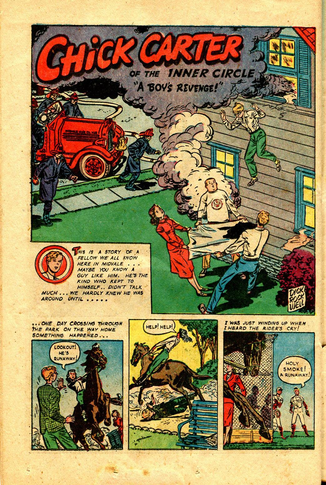 Read online Shadow Comics comic -  Issue #100 - 38