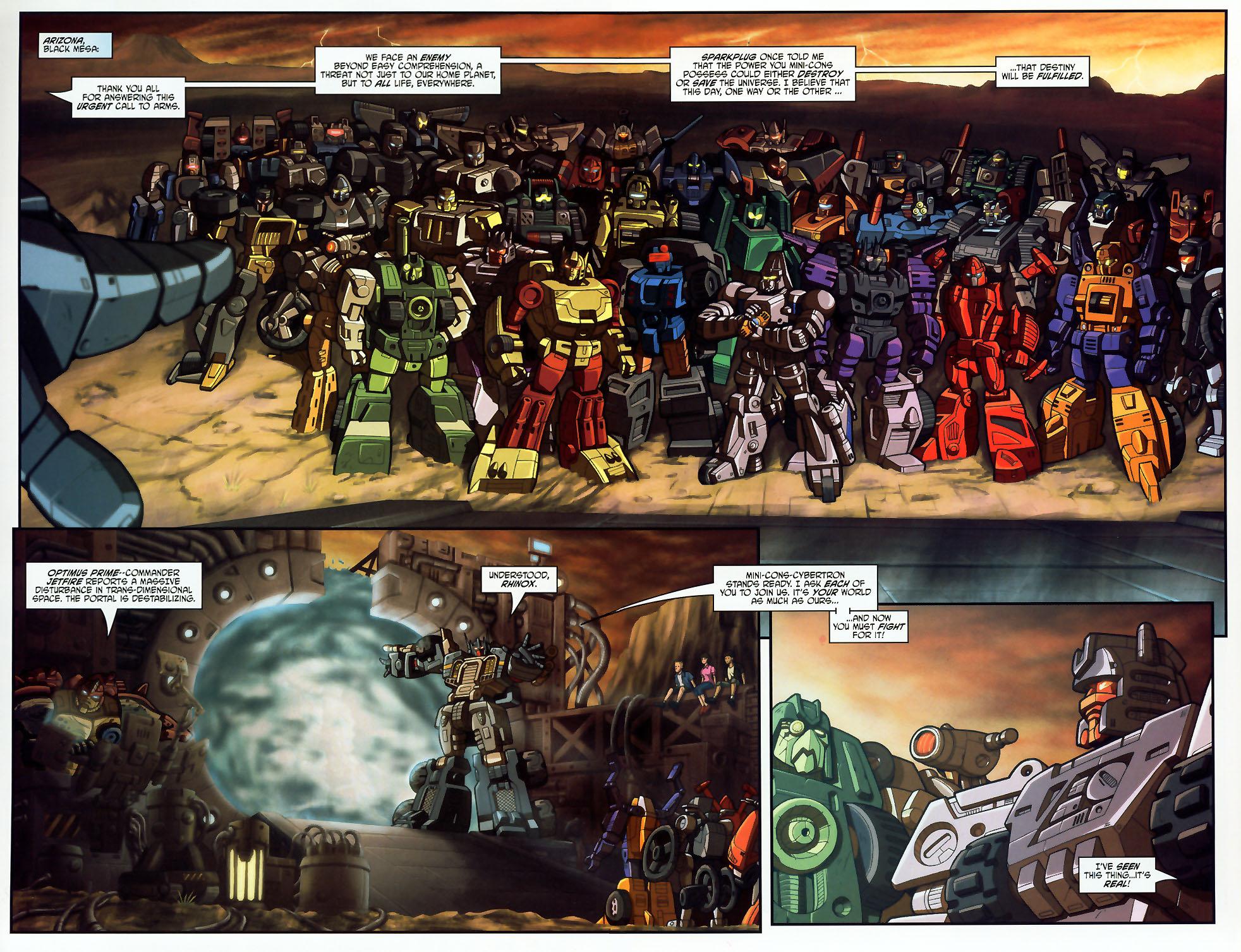Read online Transformers Armada comic -  Issue #18 - 4
