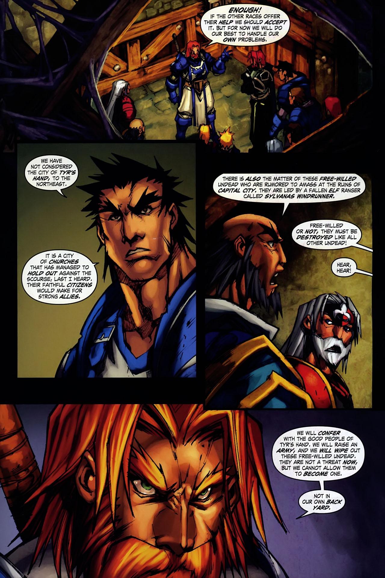 Read online World of Warcraft: Ashbringer comic -  Issue #1 - 27