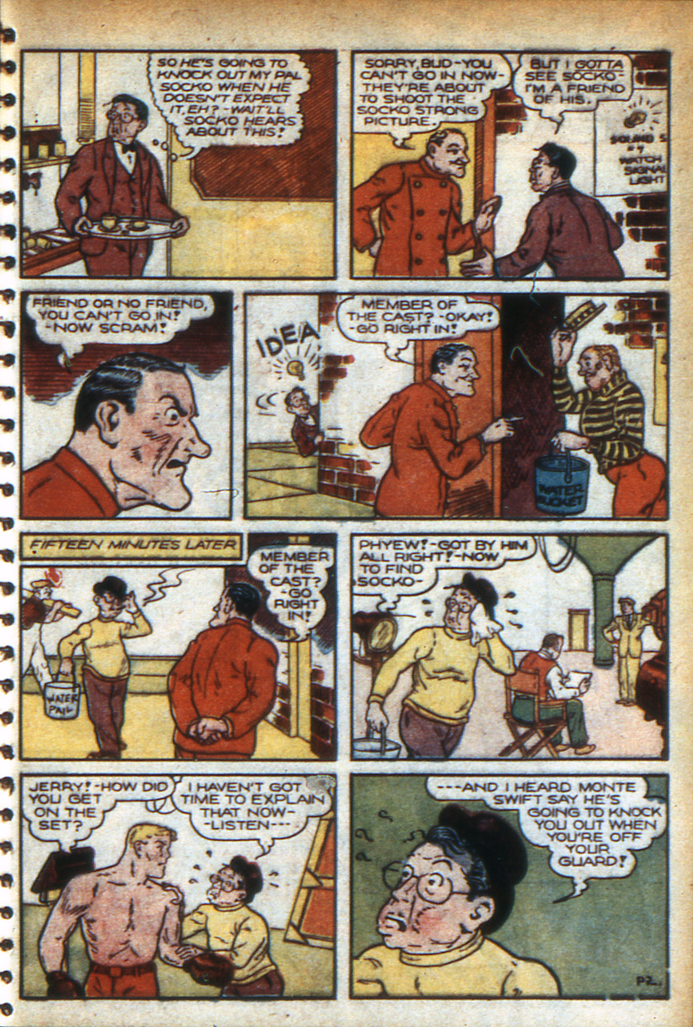 Read online Adventure Comics (1938) comic -  Issue #47 - 30