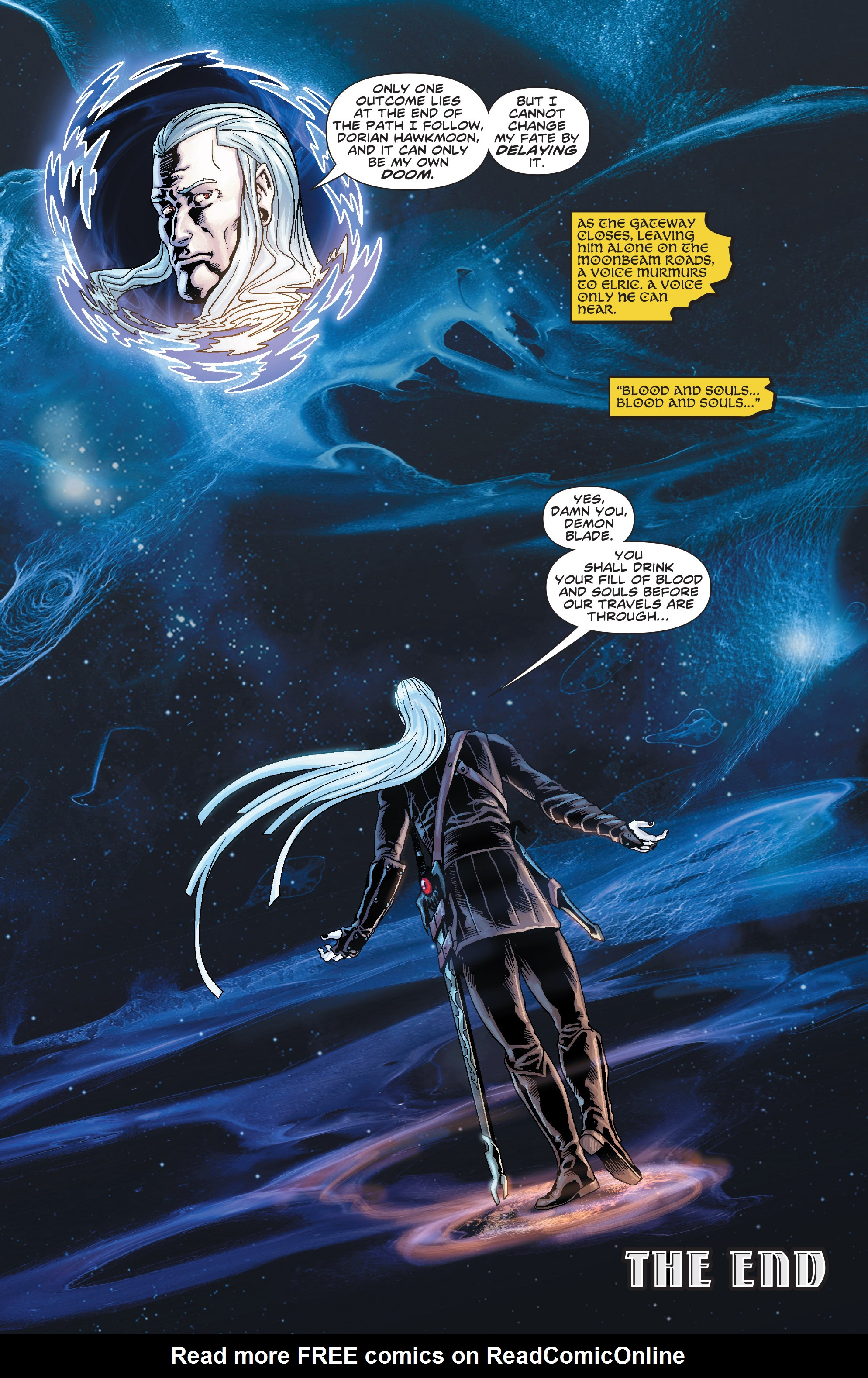 Read online Elric: The Balance Lost comic -  Issue # TPB 3 - 91