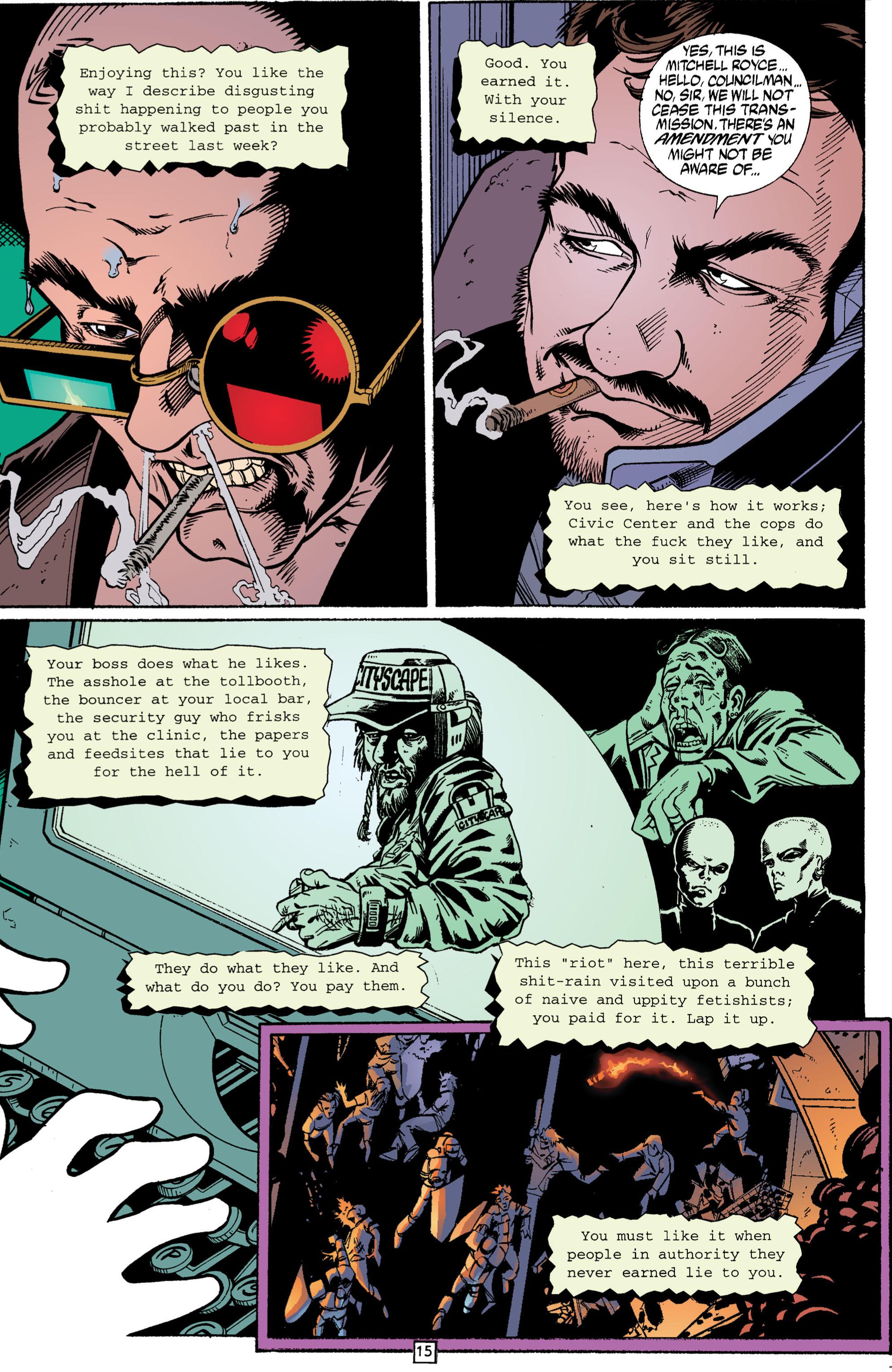 Read online Transmetropolitan comic -  Issue #3 - 15