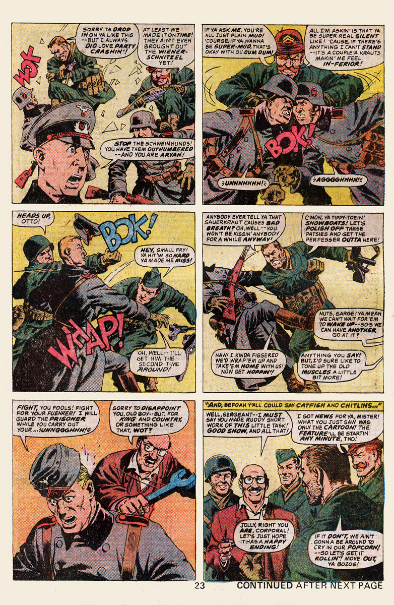 Read online Sgt. Fury comic -  Issue #139 - 25