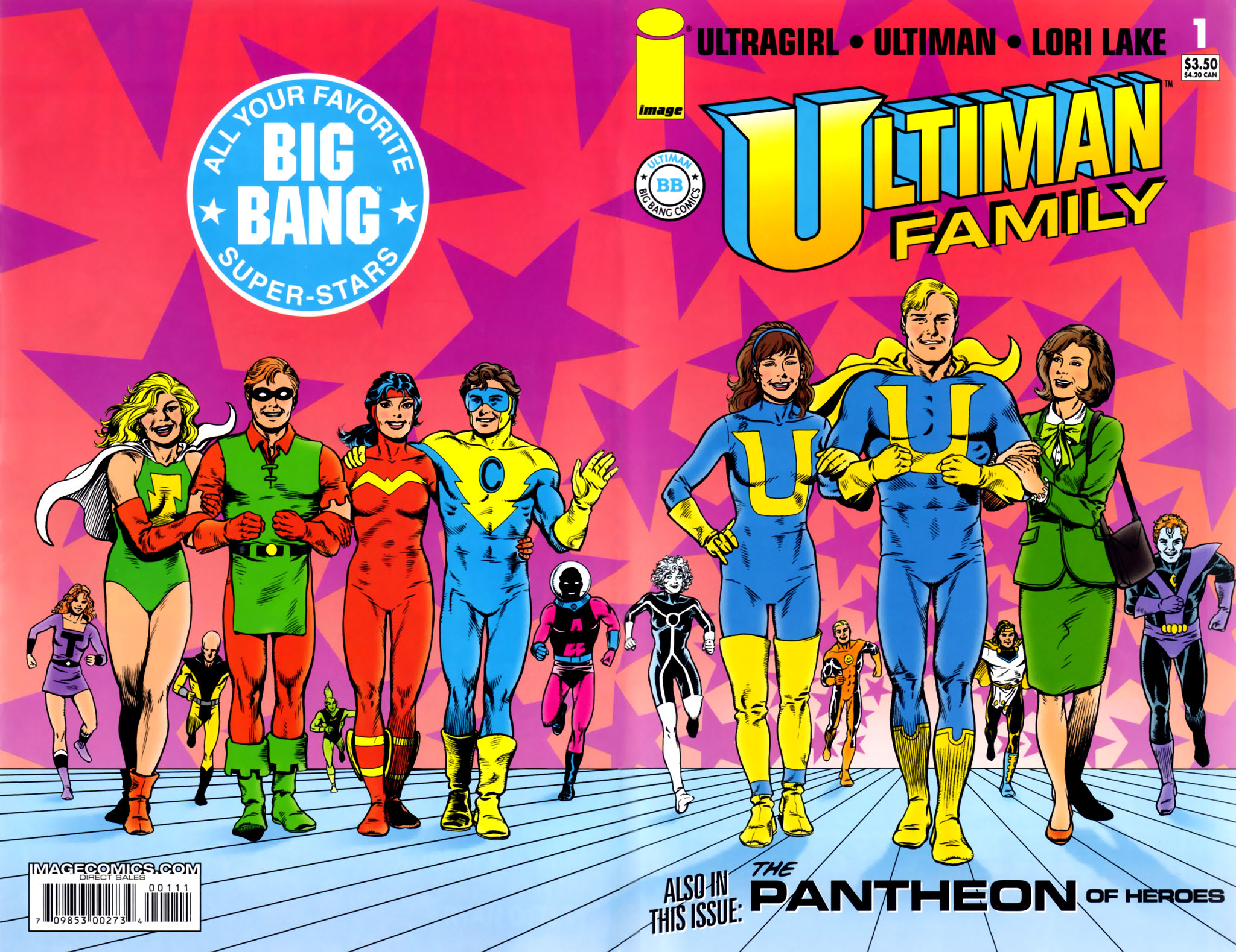 Read online Big Bang Presents Ultiman Family comic -  Issue # Full - 1