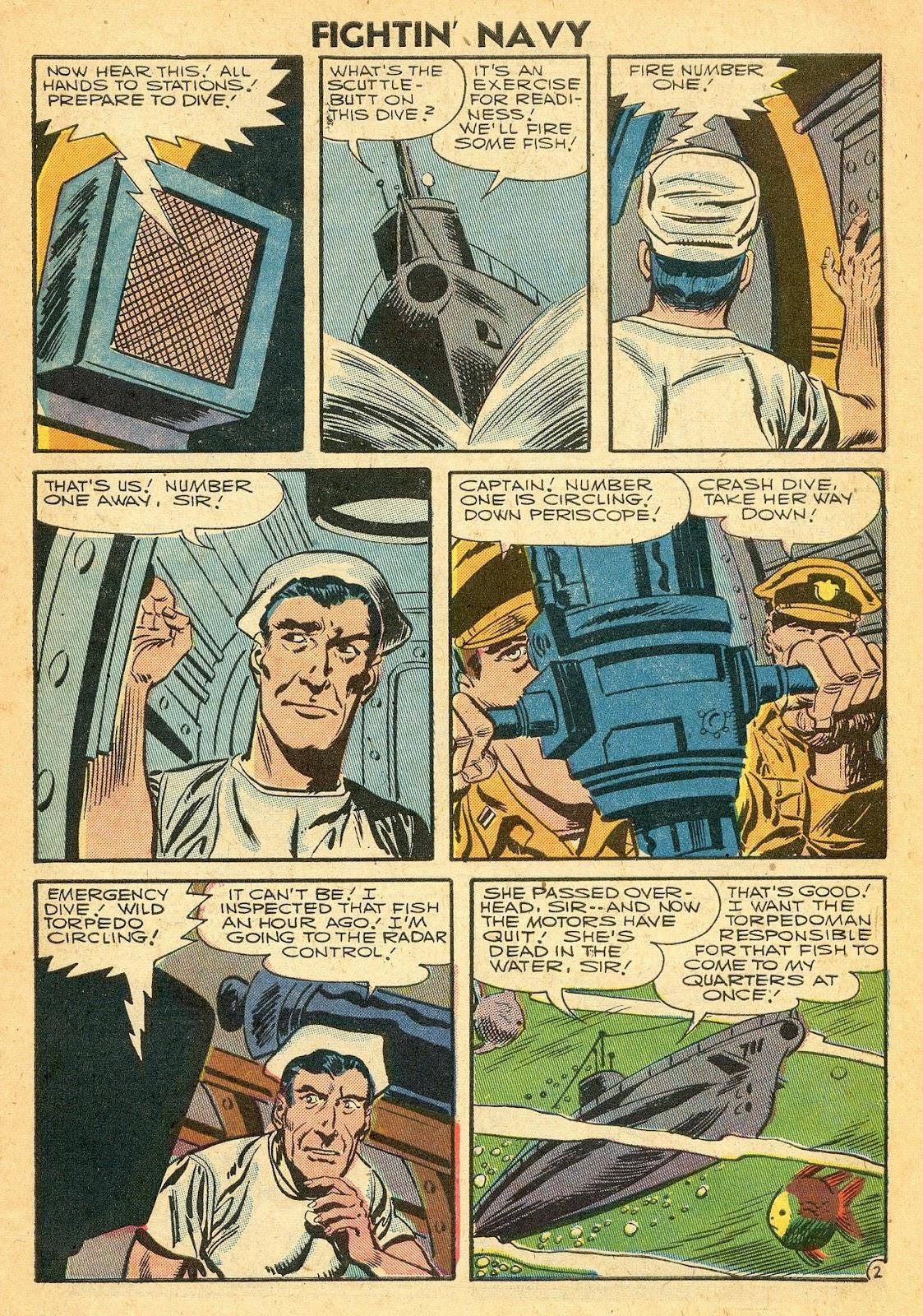 Read online Fightin' Navy comic -  Issue #77 - 27
