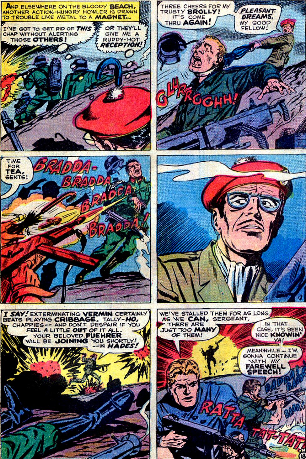 Read online Sgt. Fury comic -  Issue #88 - 25