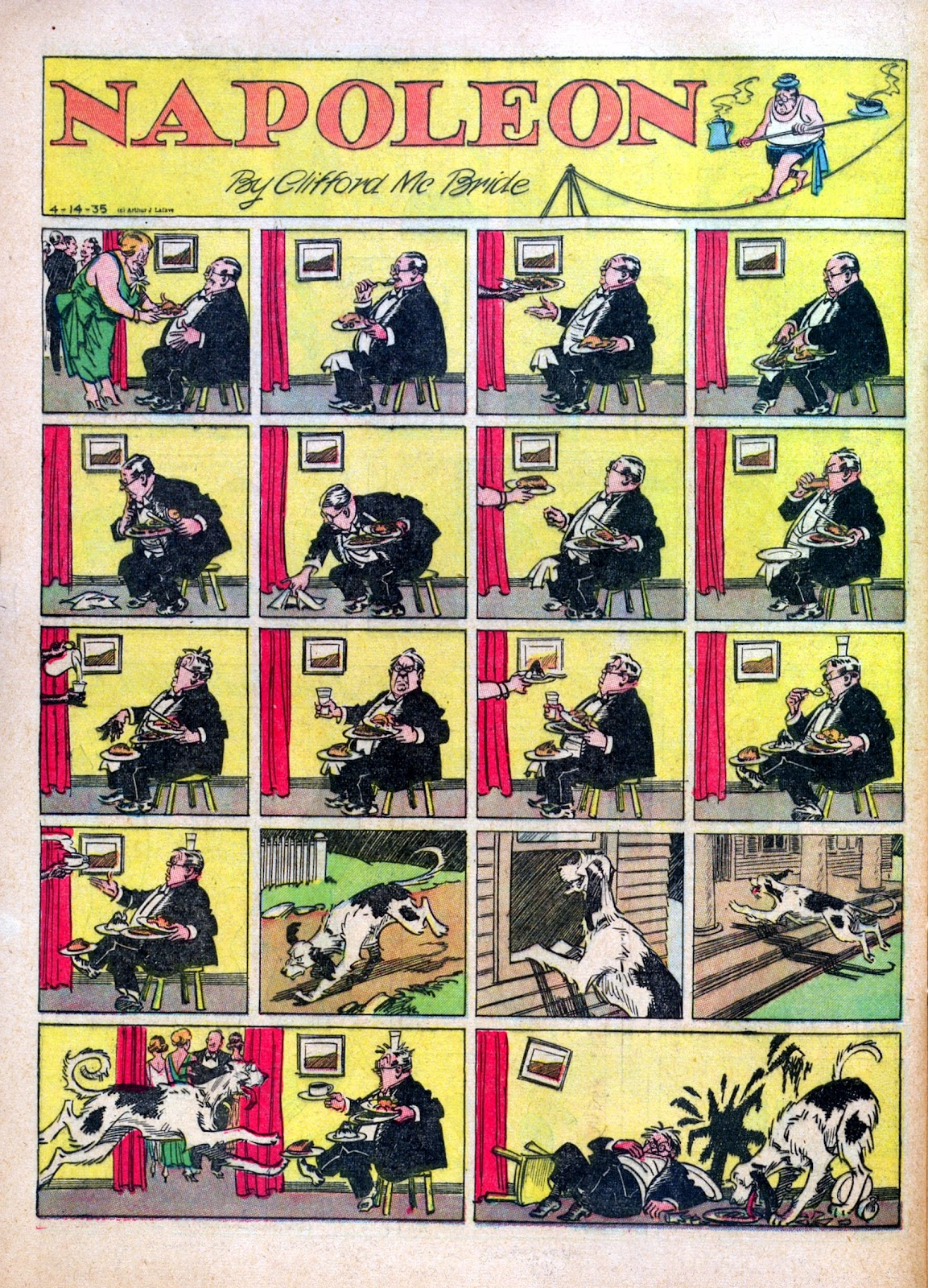 Read online Famous Funnies comic -  Issue #30 - 54