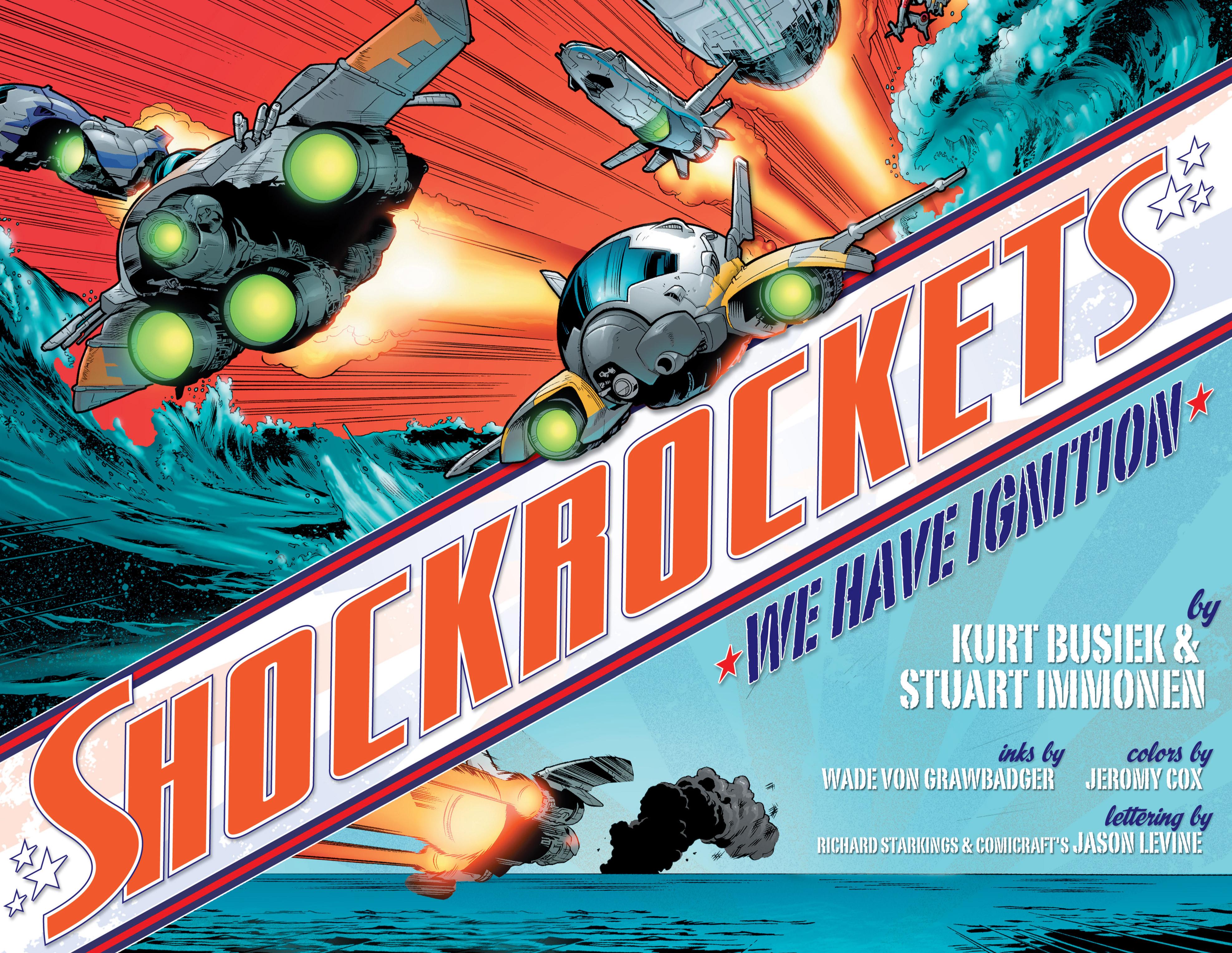 Read online Shockrockets comic -  Issue # TPB - 3