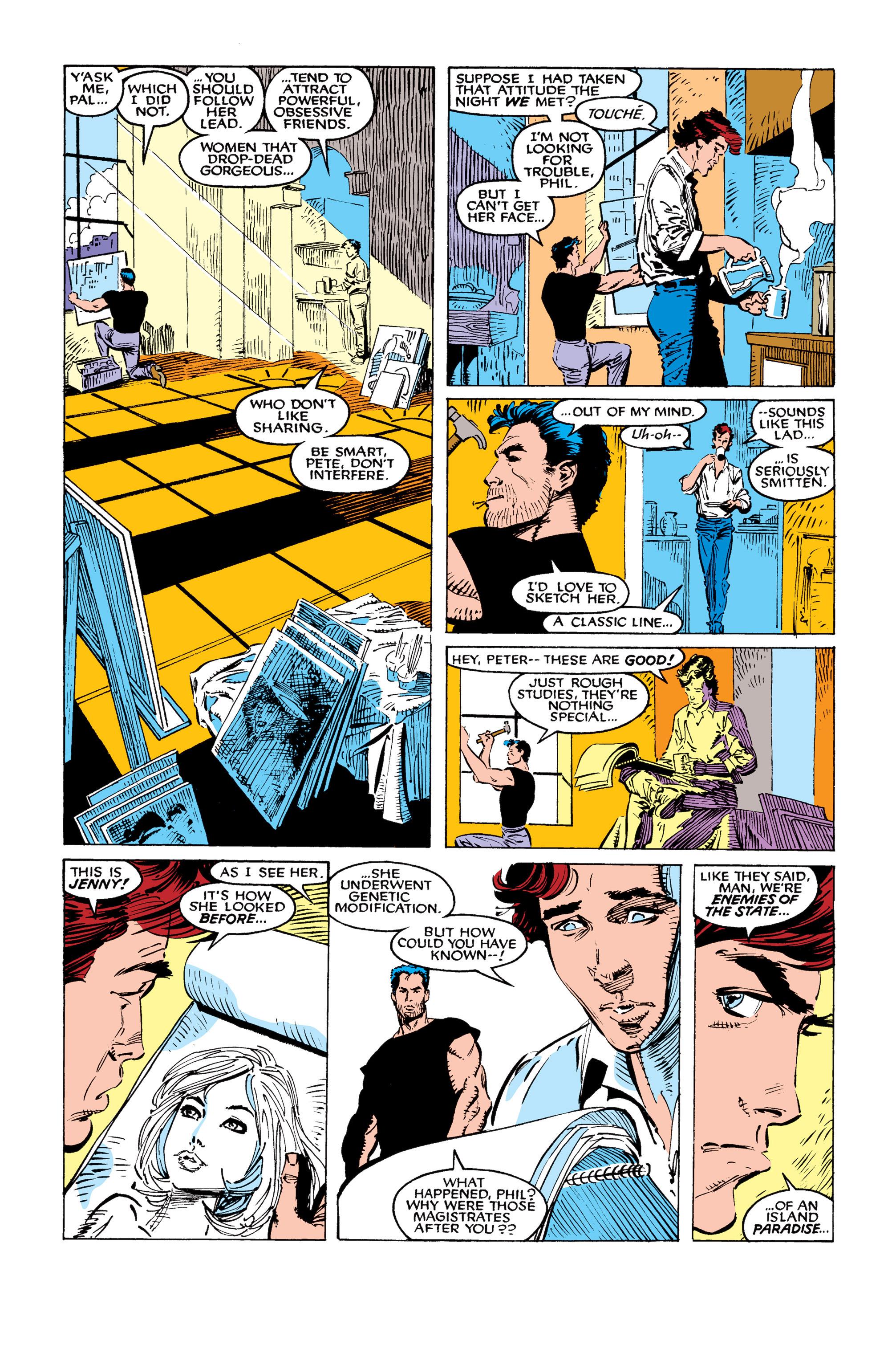 Read online Uncanny X-Men (1963) comic -  Issue #259 - 18