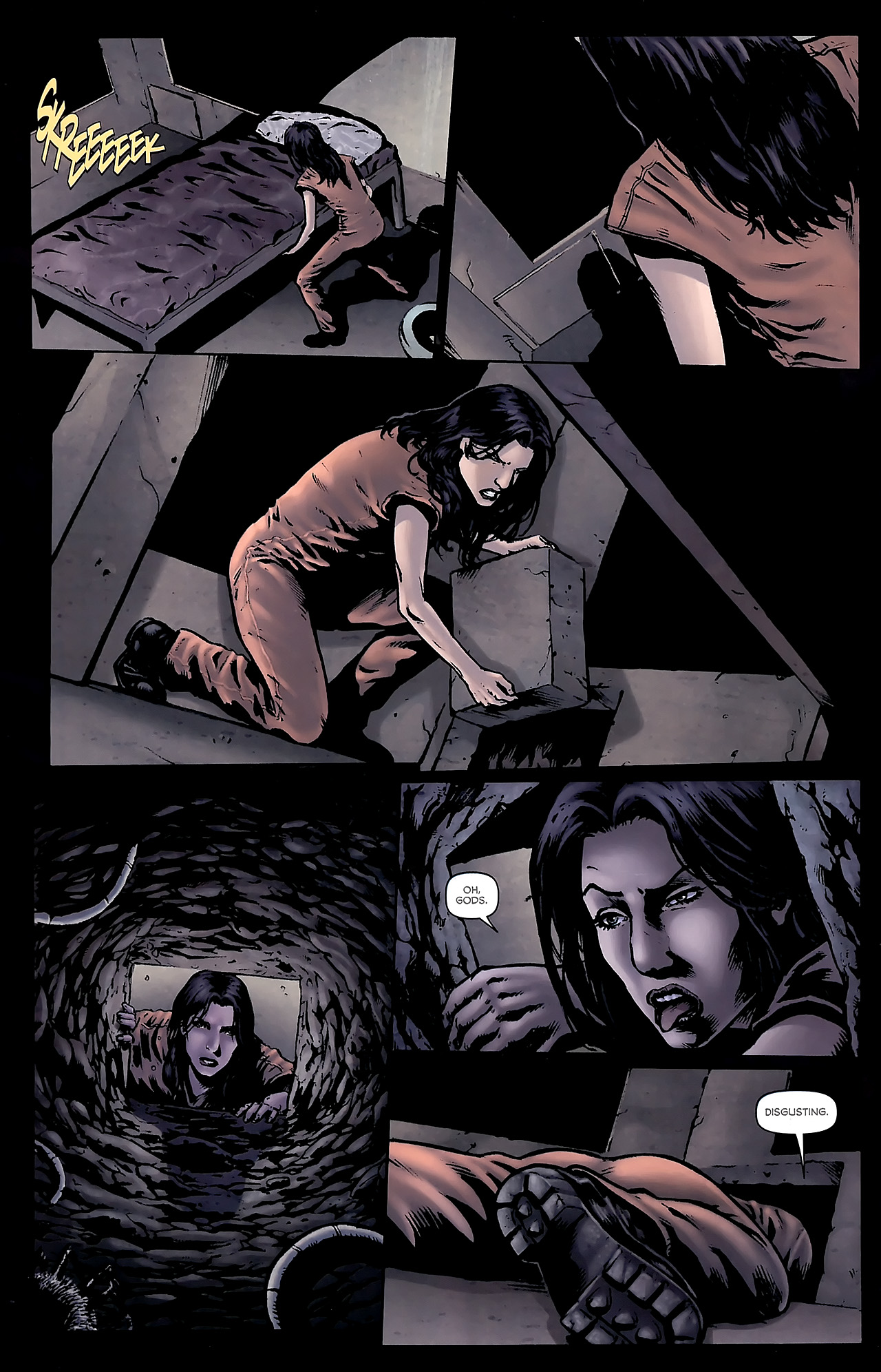Read online Stargate Vala Mal Doran comic -  Issue #3 - 4
