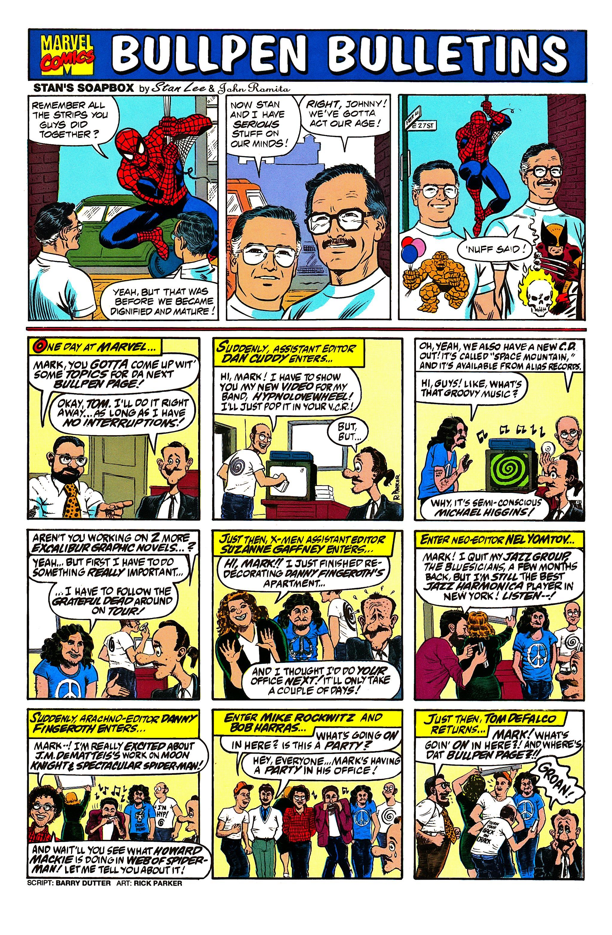 Read online Uncanny X-Men (1963) comic -  Issue #279 - 21