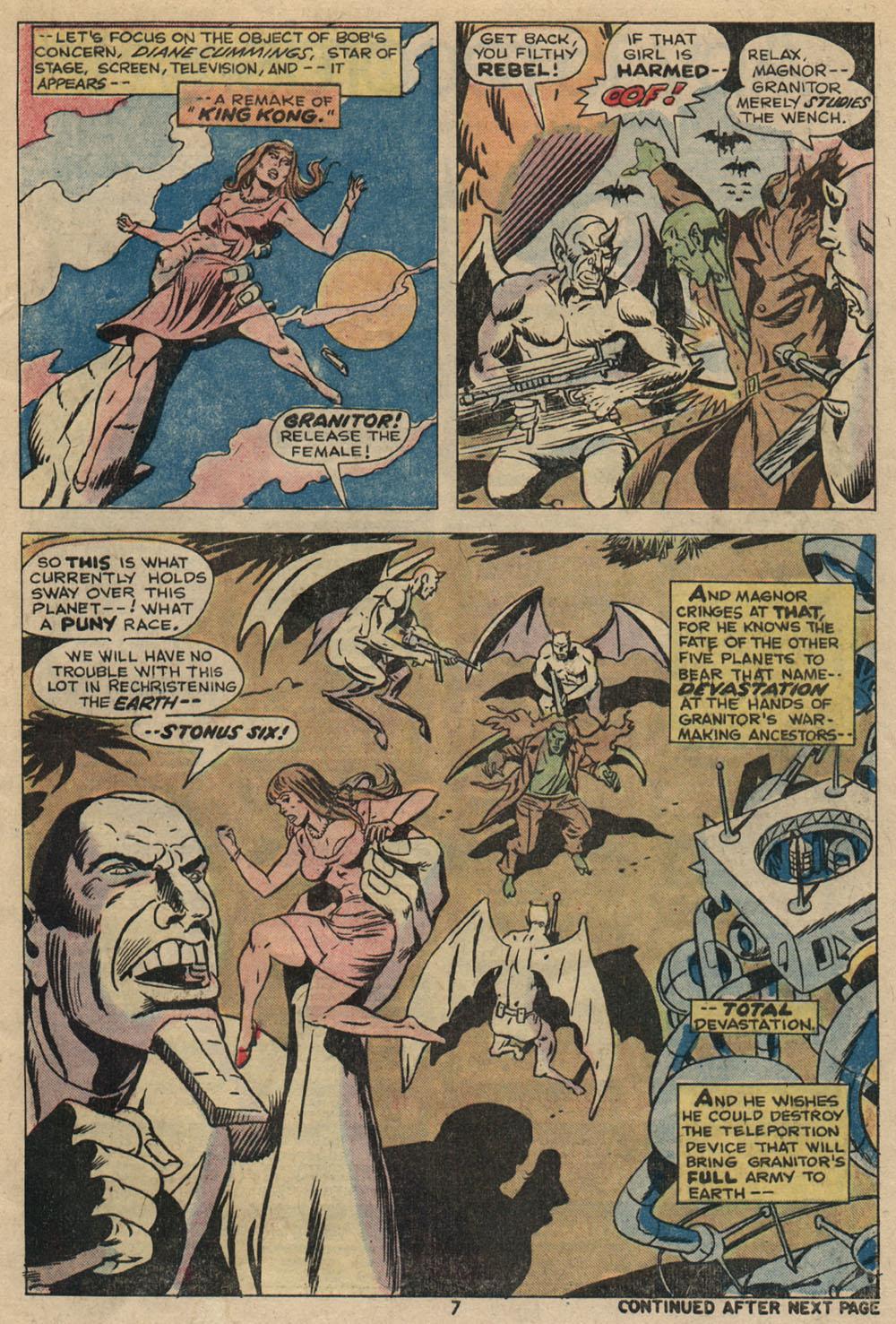 Read online Astonishing Tales (1970) comic -  Issue #23 - 6