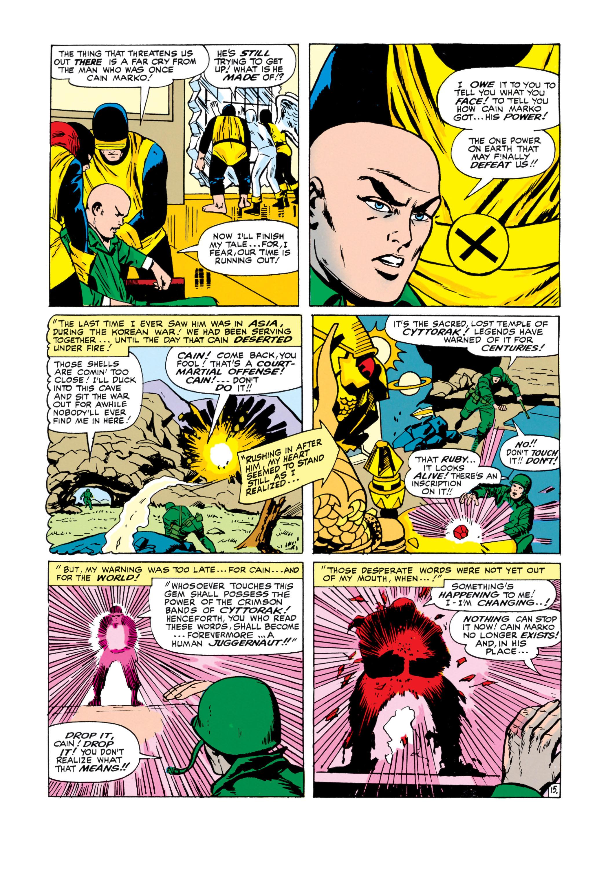 Uncanny X-Men (1963) 12 Page 15