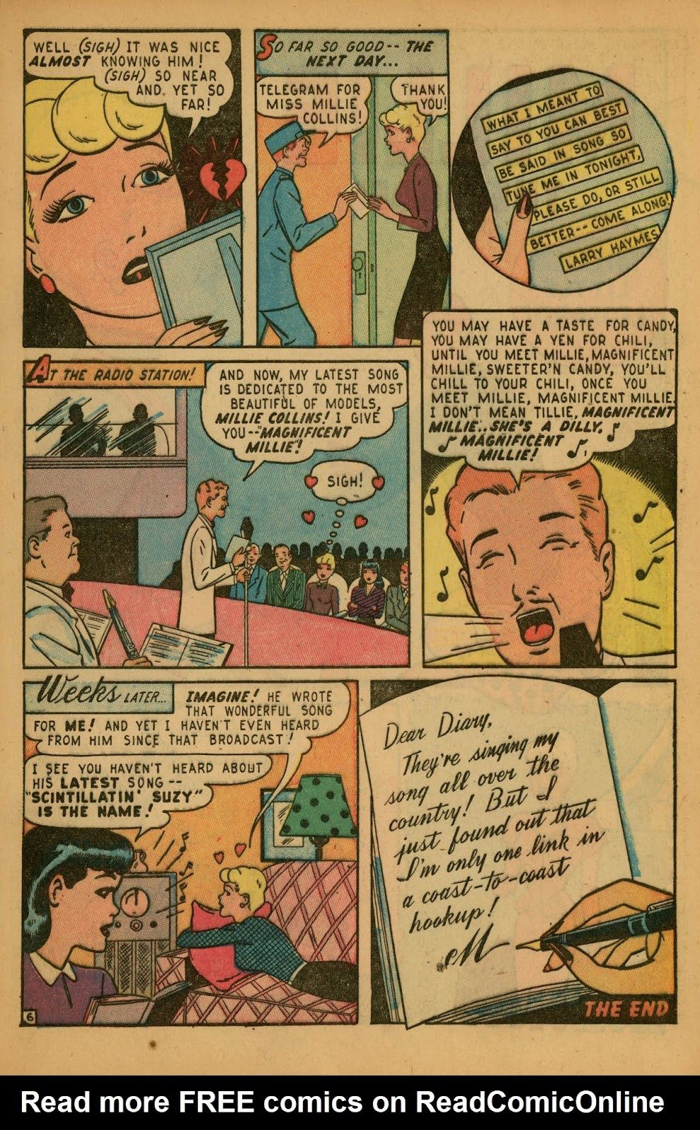 Read online Millie the Model comic -  Issue #7 - 9