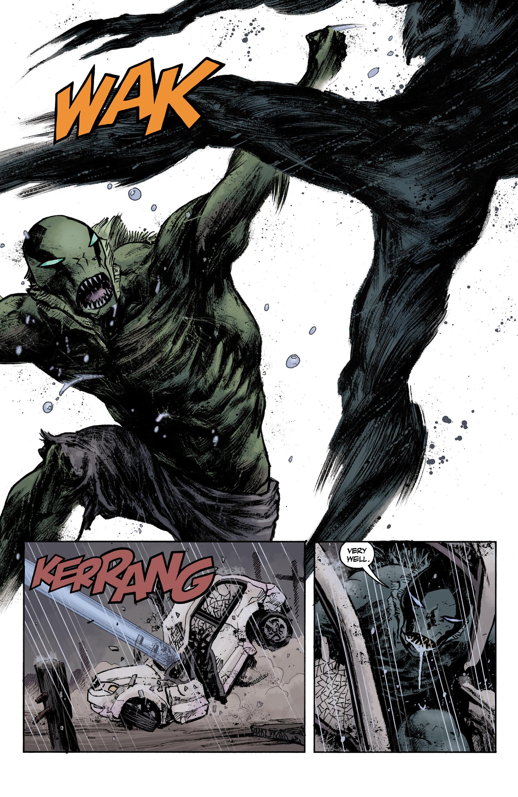 Read online Abe Sapien comic -  Issue #36 - 18