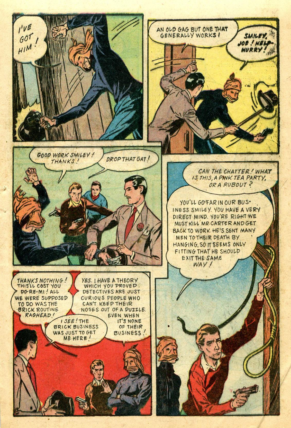Read online Shadow Comics comic -  Issue #44 - 44