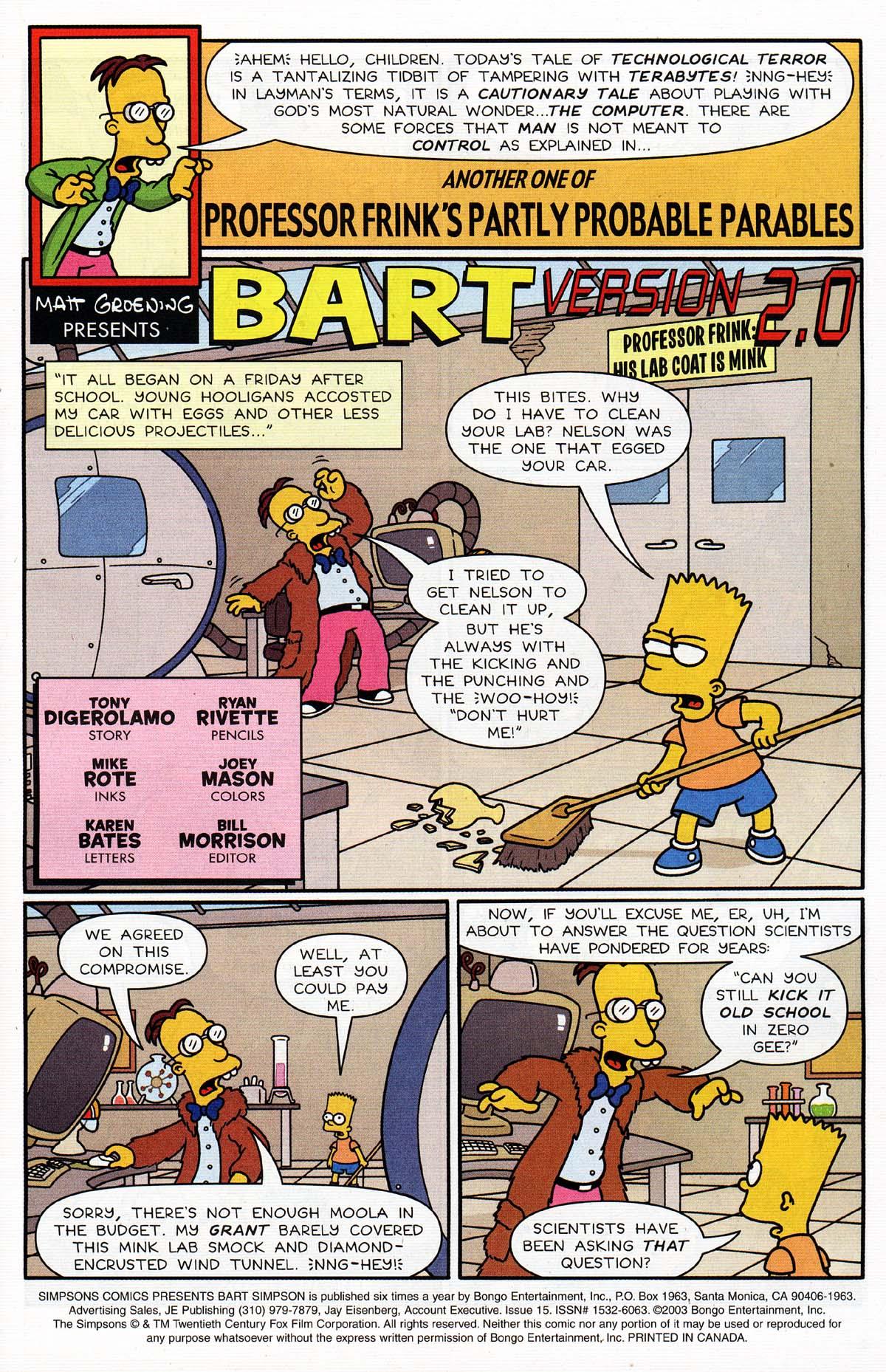 Read online Simpsons Comics Presents Bart Simpson comic -  Issue #15 - 3