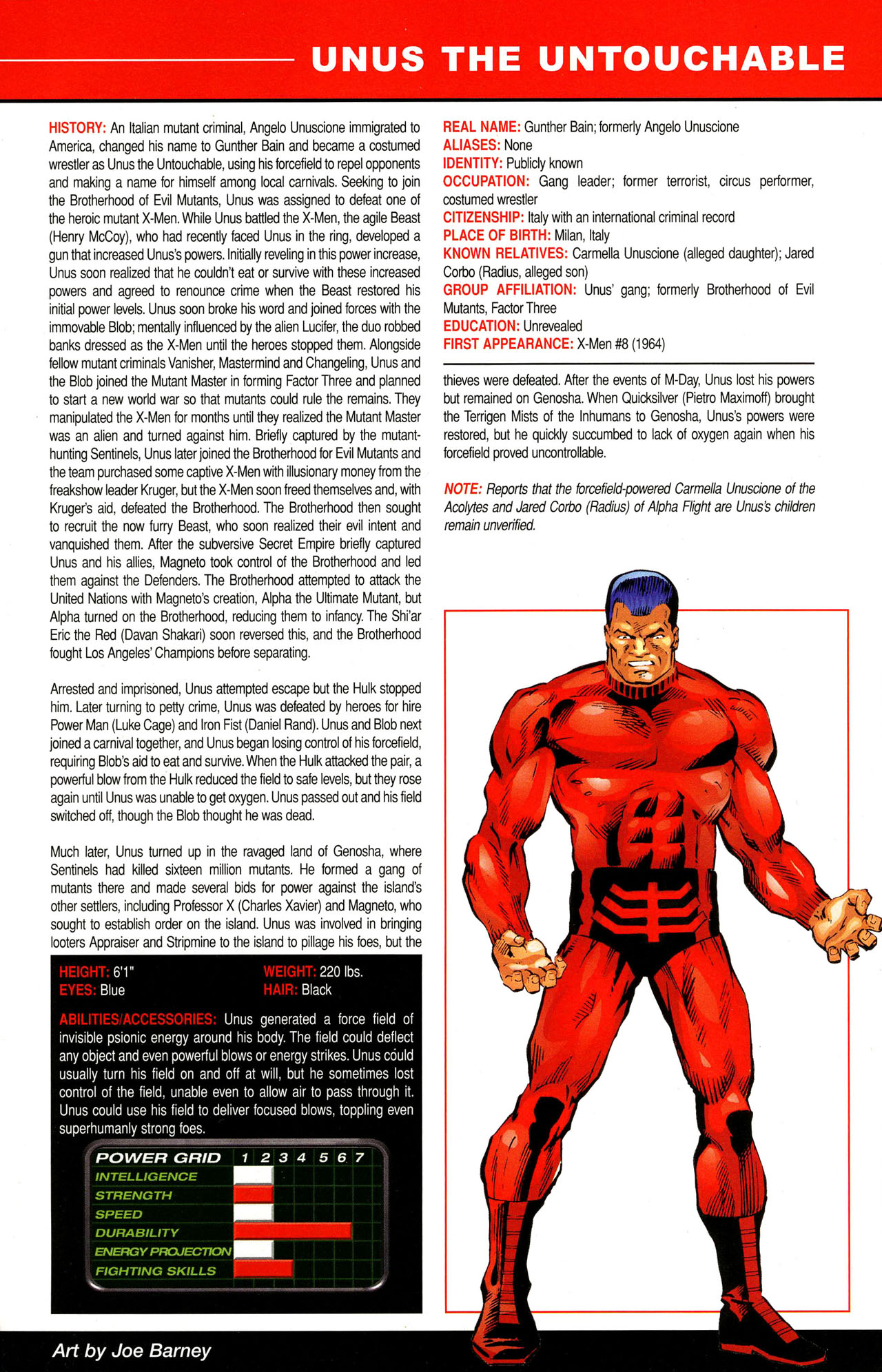 Read online All-New Official Handbook of the Marvel Universe A to Z comic -  Issue #12 - 11