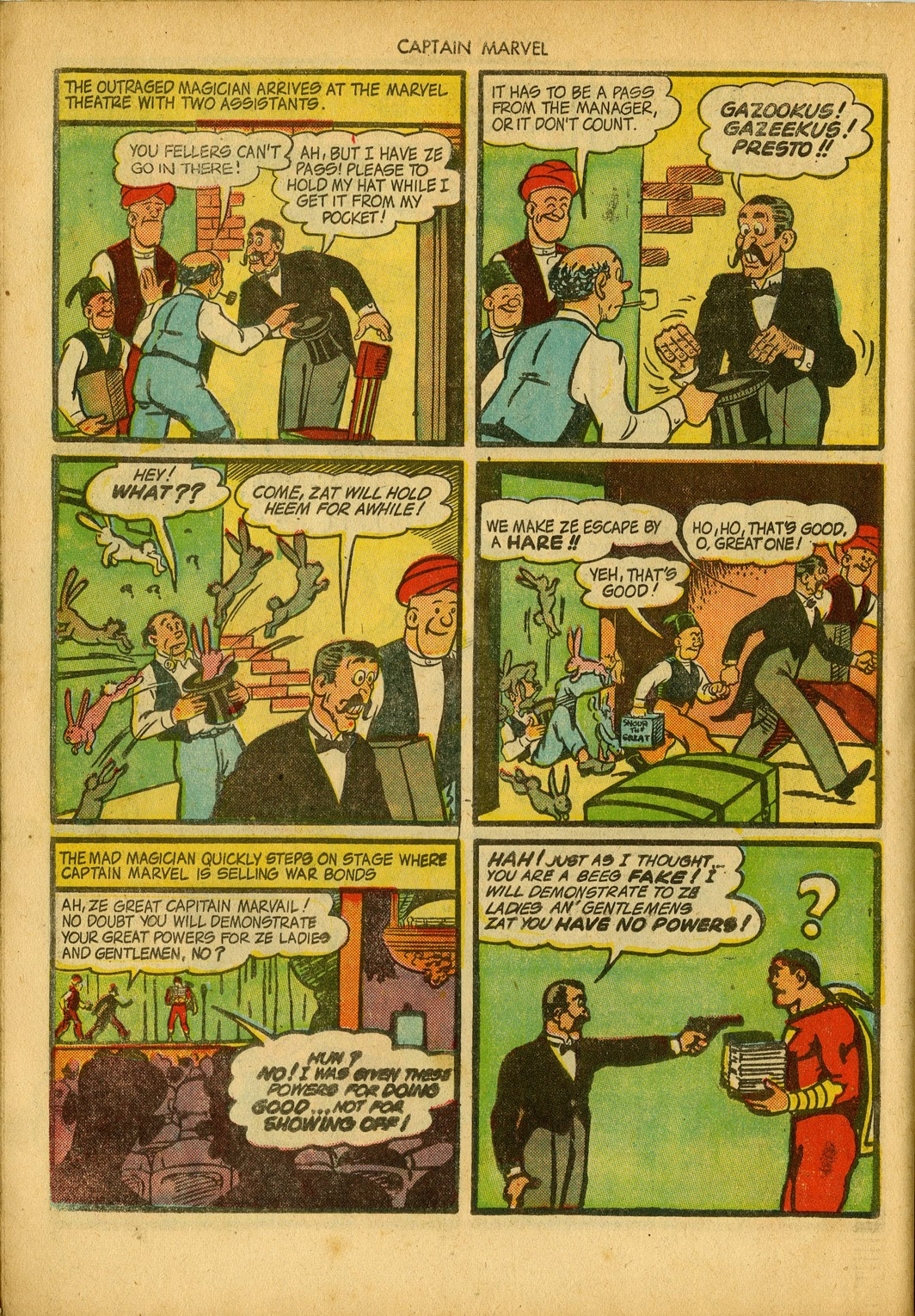 Captain Marvel Adventures issue 34 - Page 38