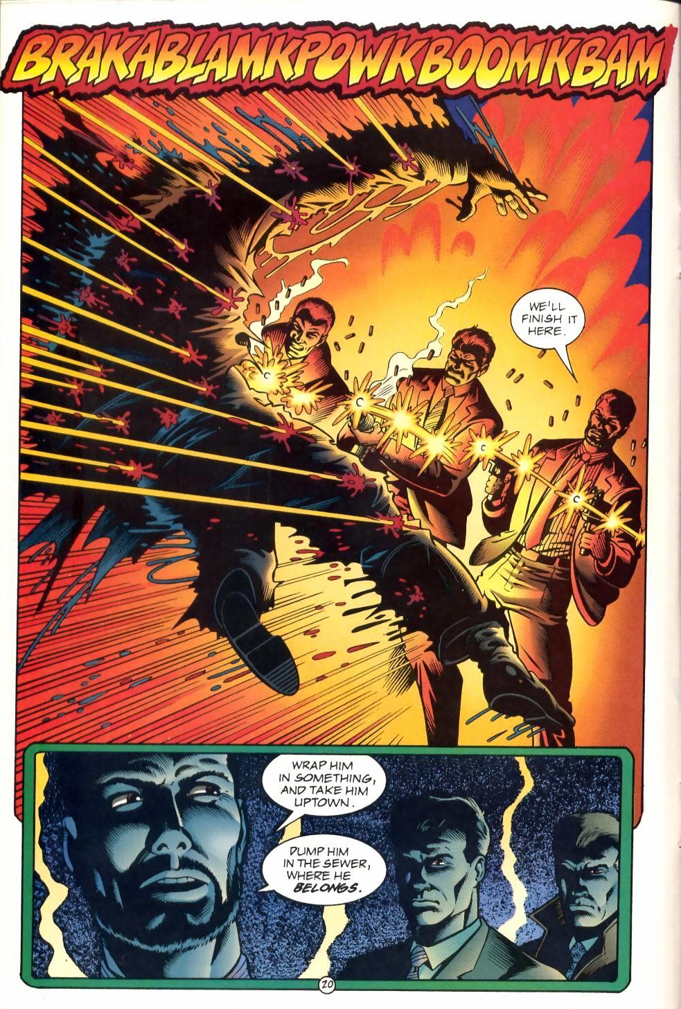 Read online Sludge comic -  Issue #1 - 21