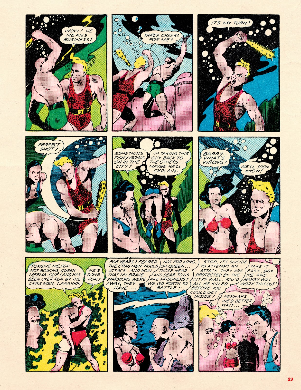 Read online Super Weird Heroes comic -  Issue # TPB 2 (Part 1) - 23
