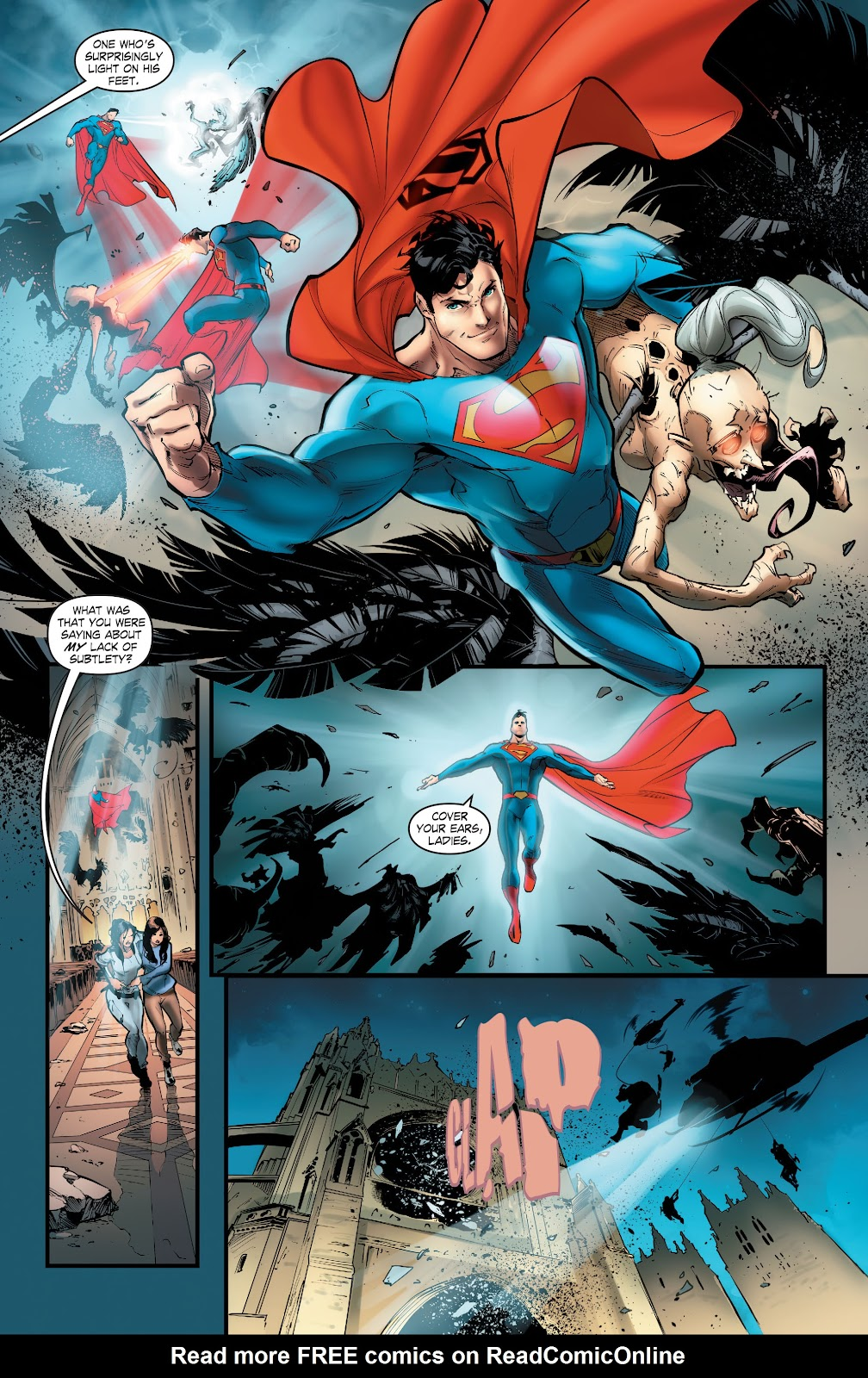 Read online Smallville Season 11 [II] comic -  Issue # TPB 5 - 34