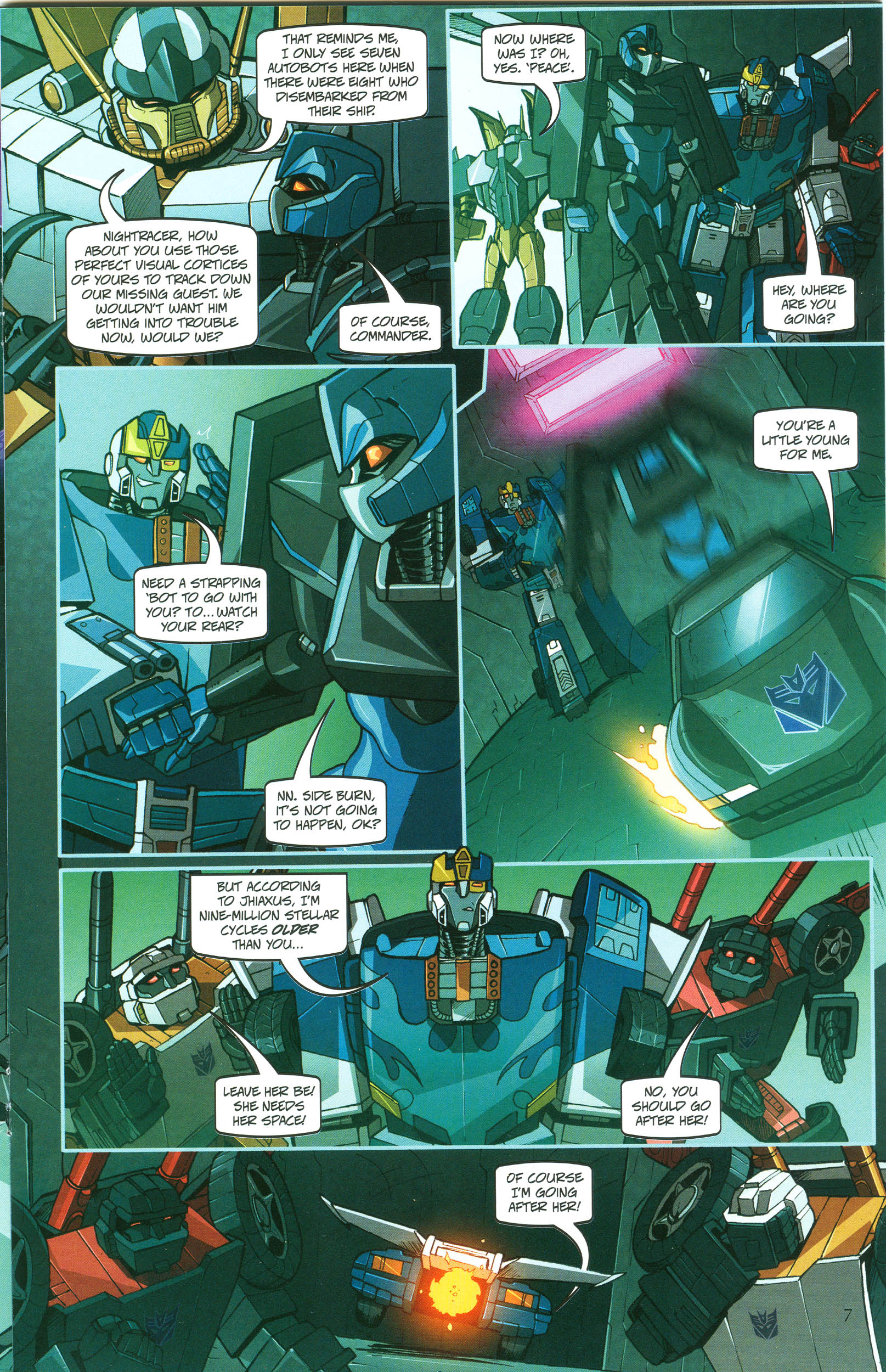 Read online Transformers: Collectors' Club comic -  Issue #47 - 7