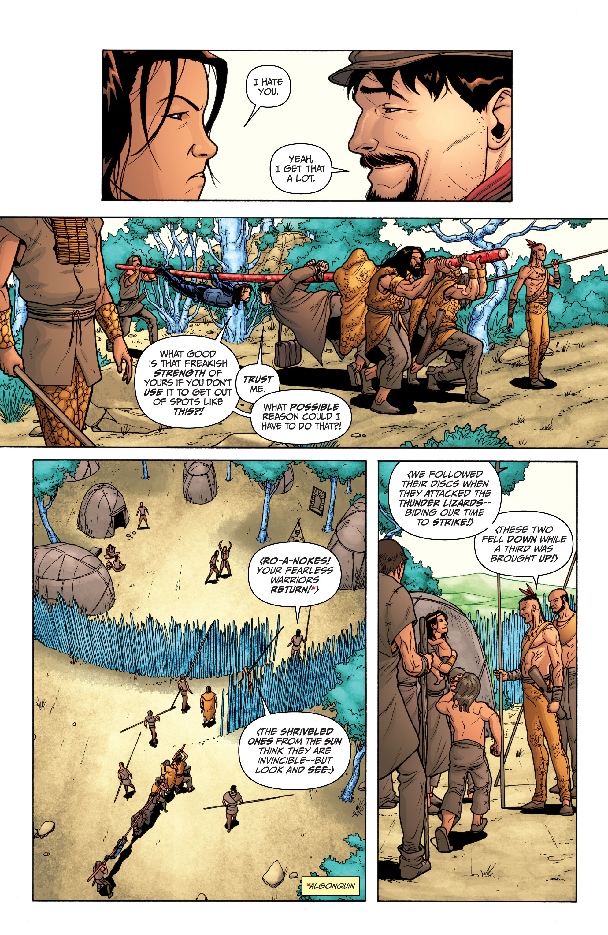 Read online Archer and Armstrong comic -  Issue #11 - 19